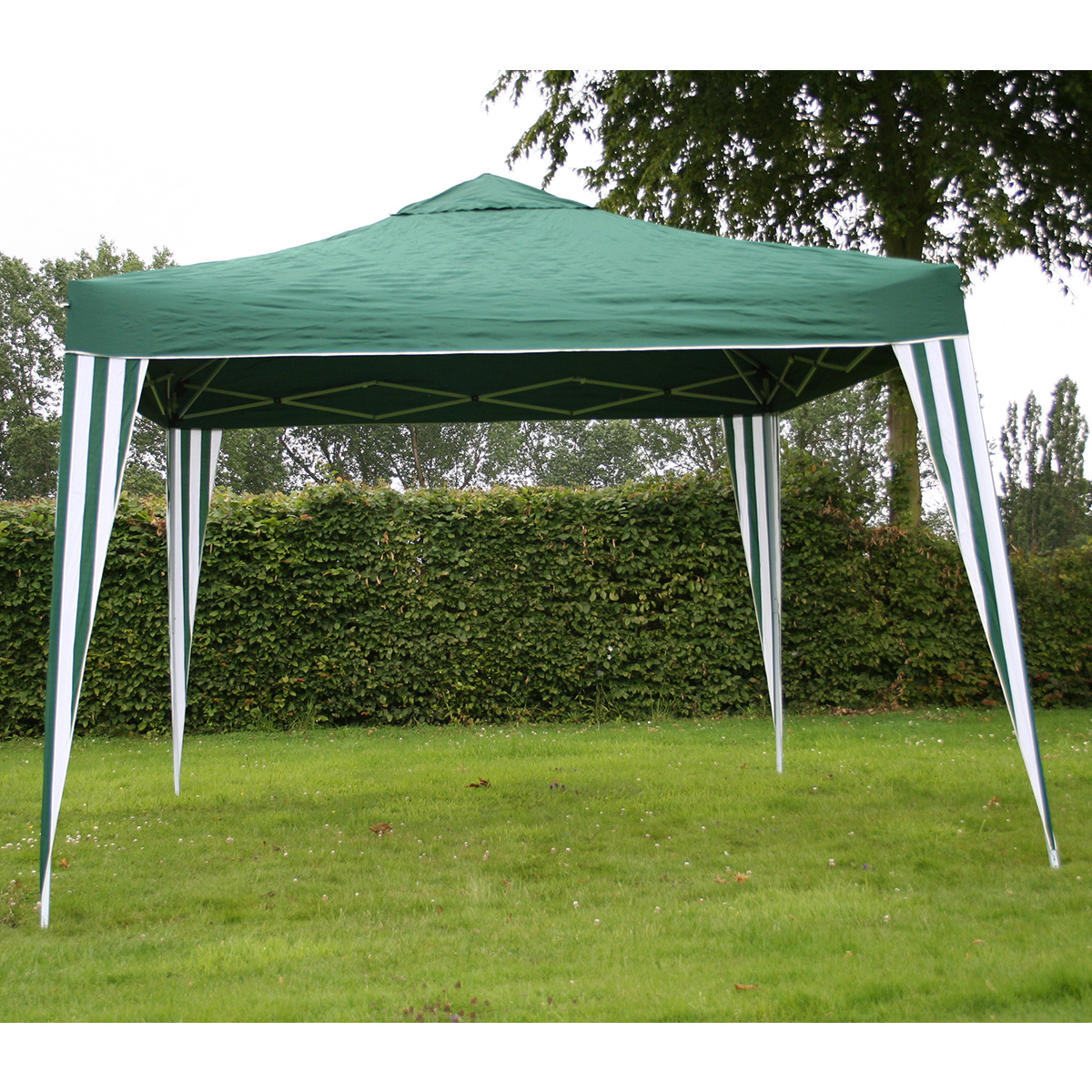 3m X 3m Foldable Pop Up Gazebo Marquee Tent For Camping