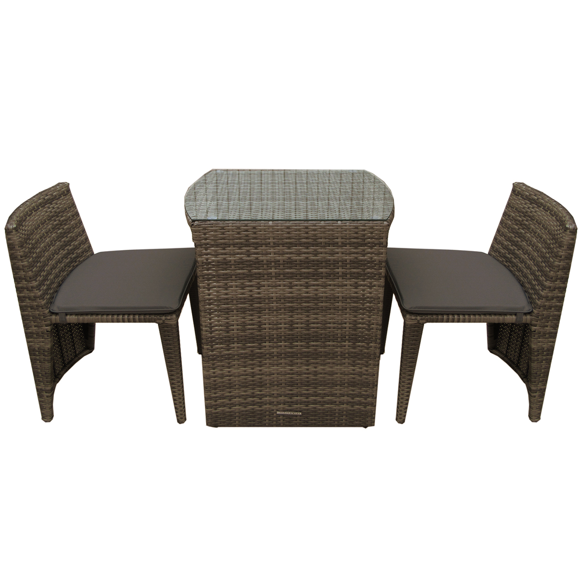 Two Seater Rattan Garden Furniture Charles bentley 2 seater rattan garden balcony furniture set grey charles bentley 2 seater rattan garden balcony furniture workwithnaturefo