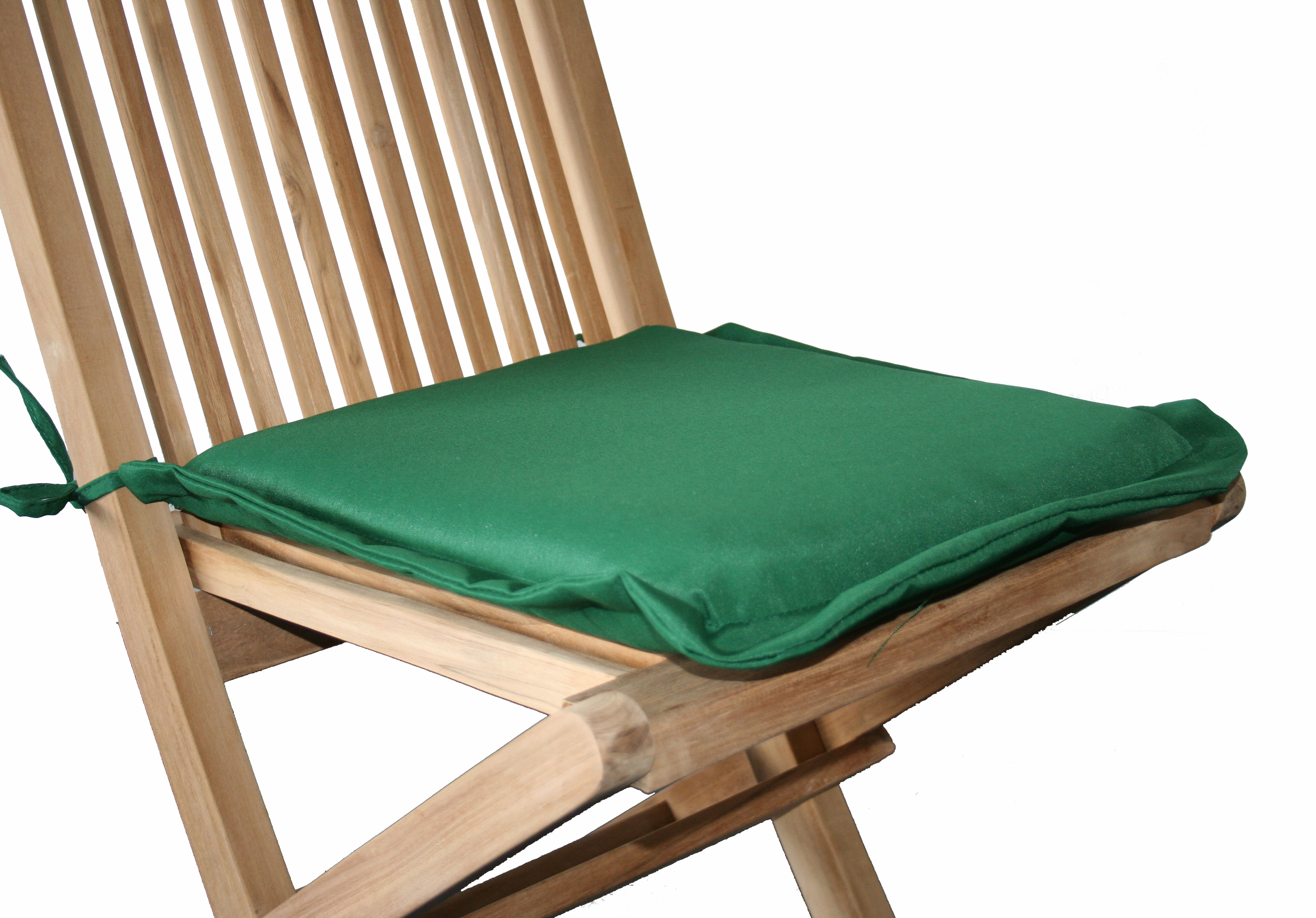 1 X Pair Of Garden Chair Seat Pad Cushions-Available In