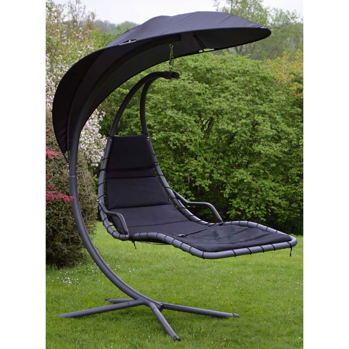charles bentley garden helicopter patio swing chair seat - Patio Swing Chair