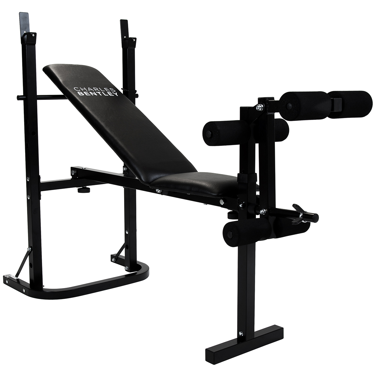 Charles Bentley Weight Bench Home Gym Chest Sit Up Leg