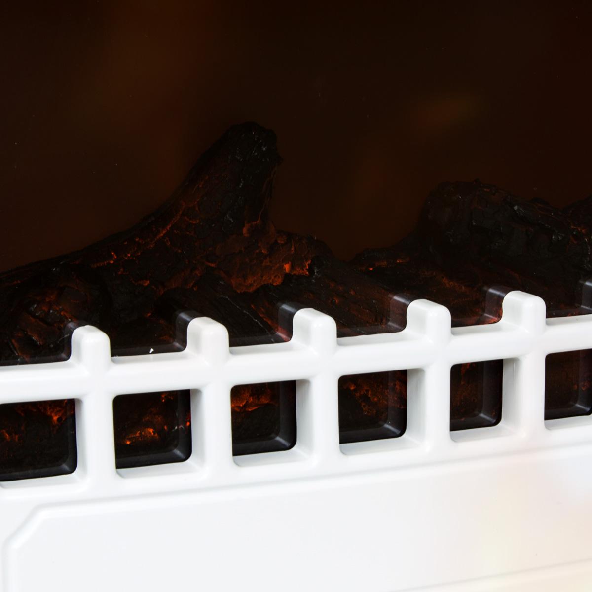 Charles bentley freestanding electric fire stove log flame - Estufas electricas efecto llama ...