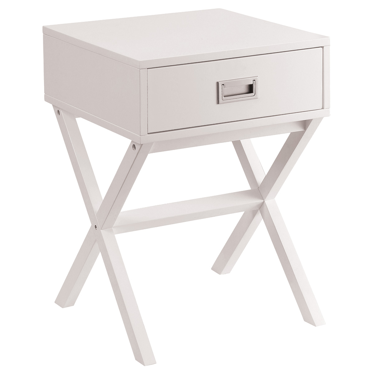 Charles Bentley Retro Side Table Bedside Table MDF