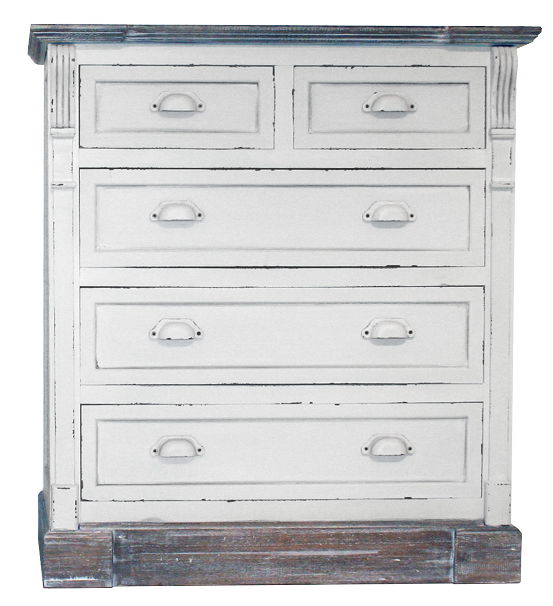 white shabby chic vintage 3 2 drawer chest bedroom furniture matching pieces ebay. Black Bedroom Furniture Sets. Home Design Ideas