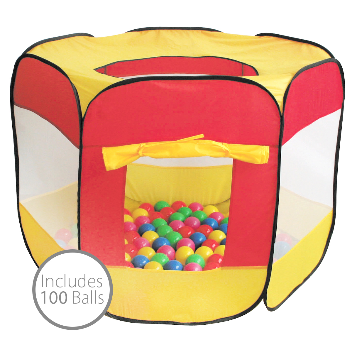 Bentley-Kids-Childrens-Pop-Up-Ball-Pit-Play-  sc 1 st  eBay & Bentley Kids Childrens Pop Up Ball Pit Play Indoor Playhouse Tent ...