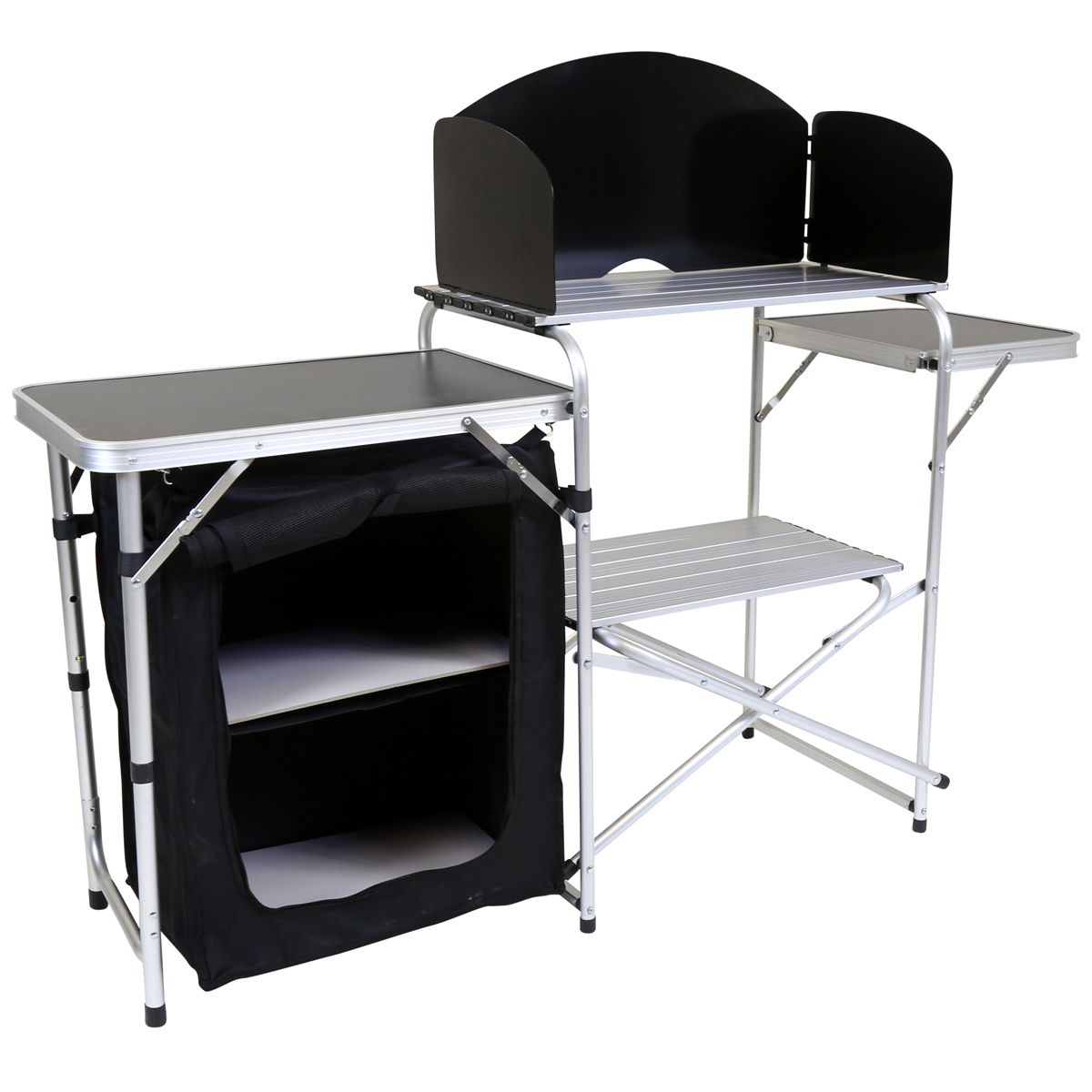 Charles Bentley Folding Kitchen Camping Storage Unit