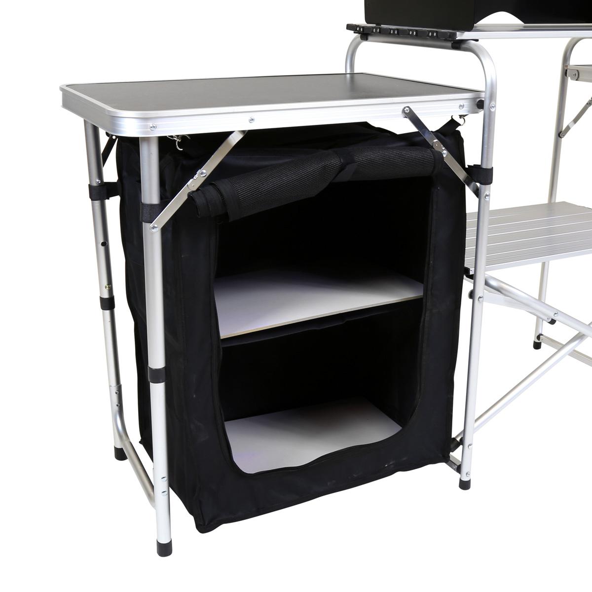 Outdoor Kitchen Units Uk: Charles Bentley Folding Kitchen Camping Storage Unit