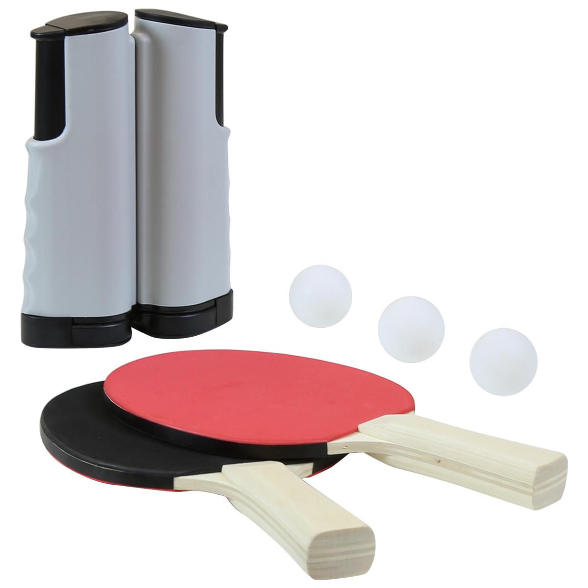Charles bentley instant table tennis set 2 bats 3 balls 1 for 1 gross table tennis balls