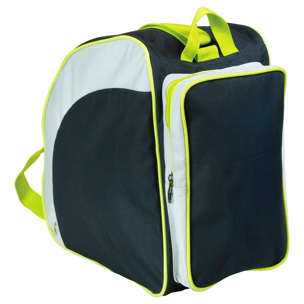 bentley sac dos large pour chaussures de ski carreaux noir bleu rose ebay. Black Bedroom Furniture Sets. Home Design Ideas
