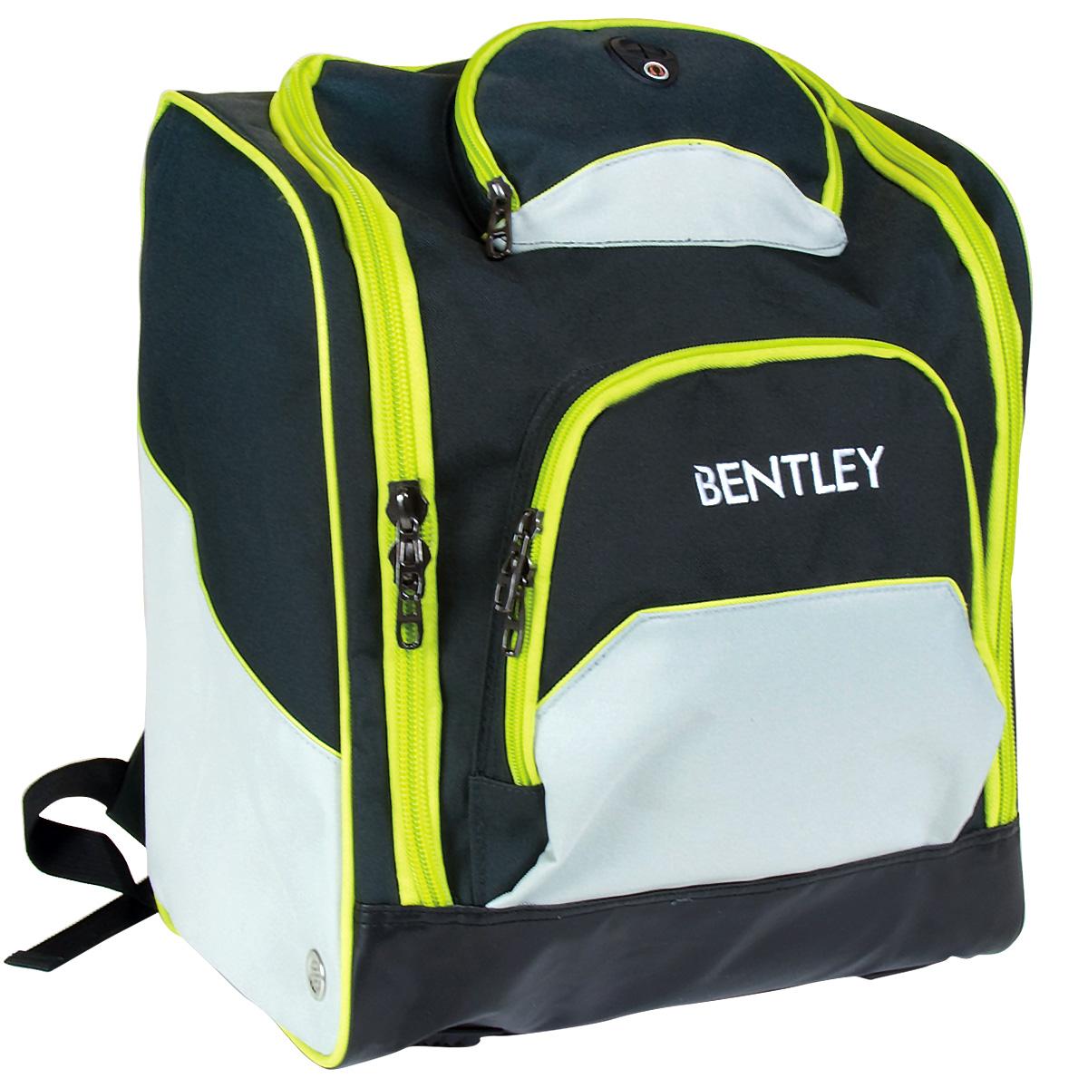 bentley skistiefel tasche rucksack deluxe blau oder rosa schwarz kariert ebay. Black Bedroom Furniture Sets. Home Design Ideas