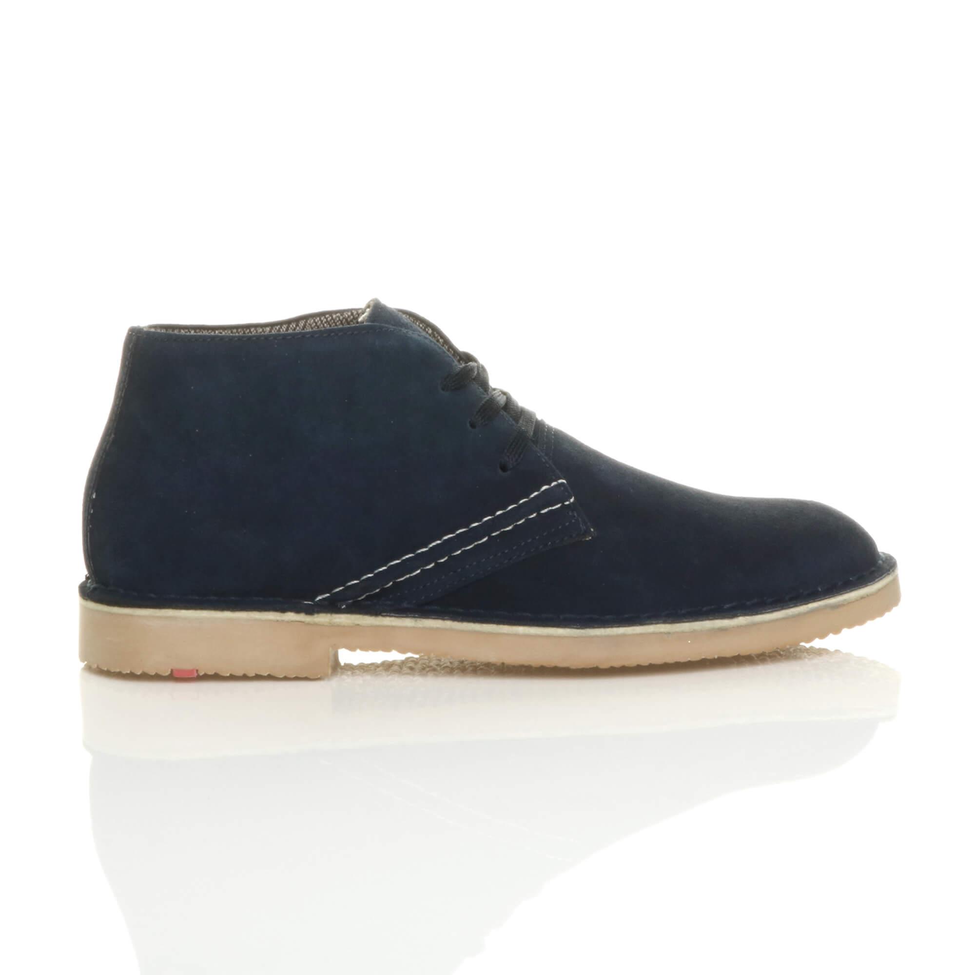 Cheville Cuir Chaussures Travail Plat Desert Hommes Classique Pointure Bottes Xq5wnS