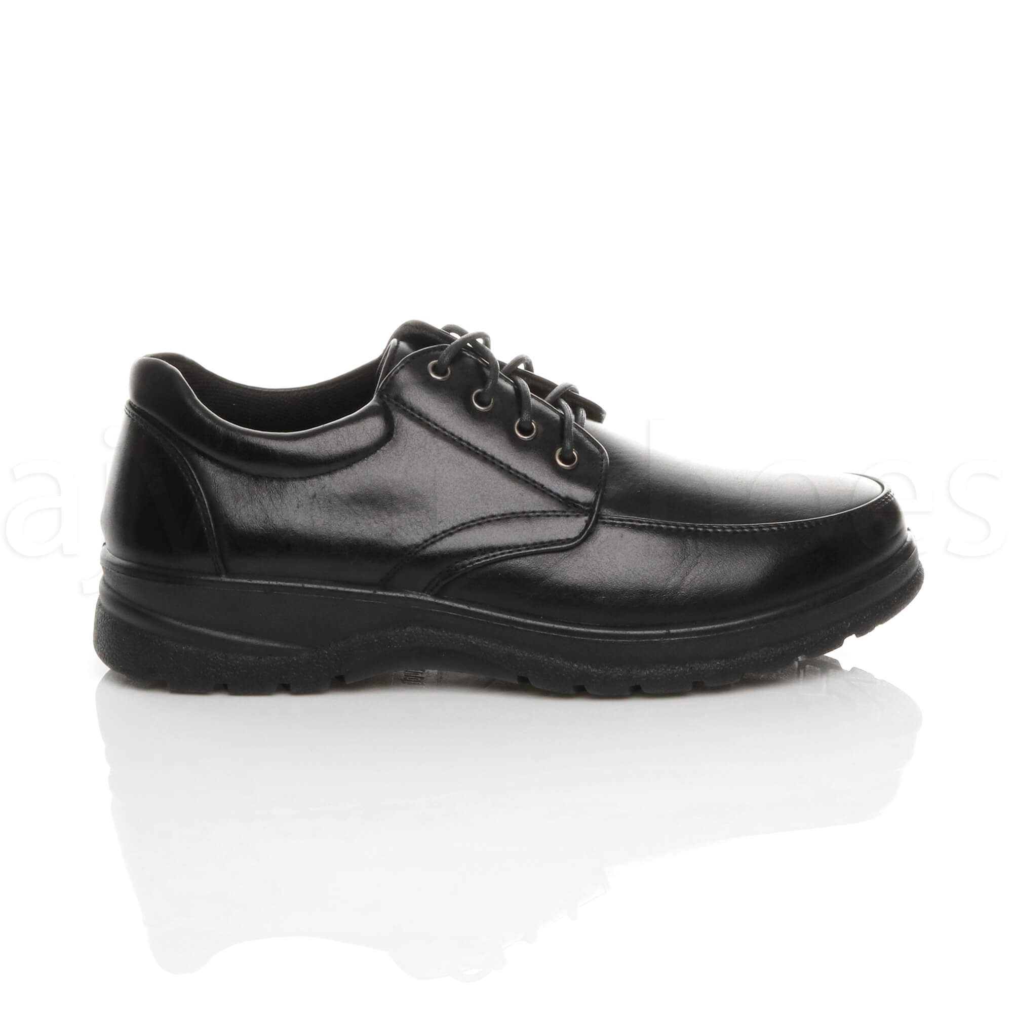 MENS-LACE-UP-CASUAL-MEMORY-FOAM-INSOLE-COMFORT-CUSHIONED-WORK-SHOES-SIZE thumbnail 3
