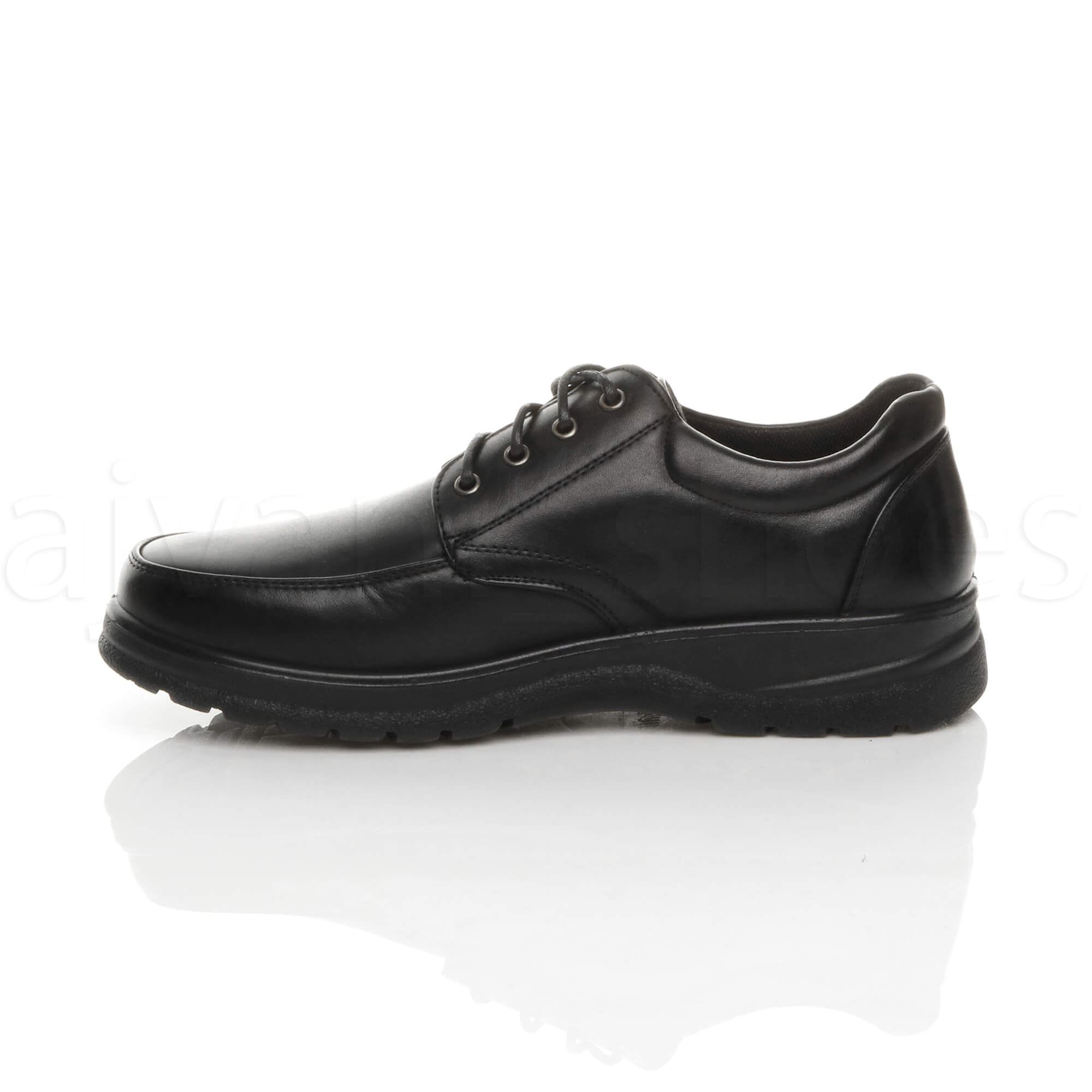 MENS-LACE-UP-CASUAL-MEMORY-FOAM-INSOLE-COMFORT-CUSHIONED-WORK-SHOES-SIZE thumbnail 4