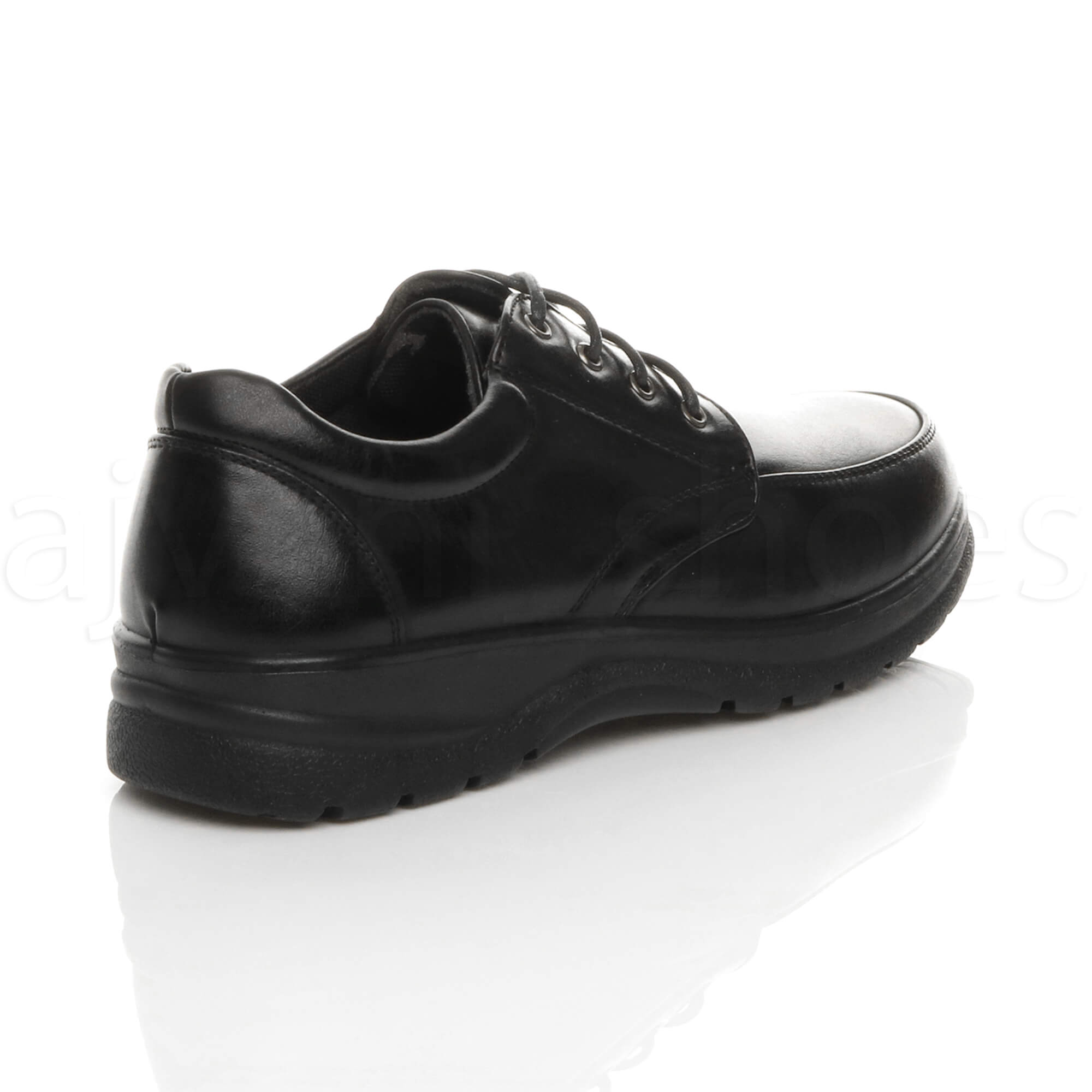 MENS-LACE-UP-CASUAL-MEMORY-FOAM-INSOLE-COMFORT-CUSHIONED-WORK-SHOES-SIZE thumbnail 5