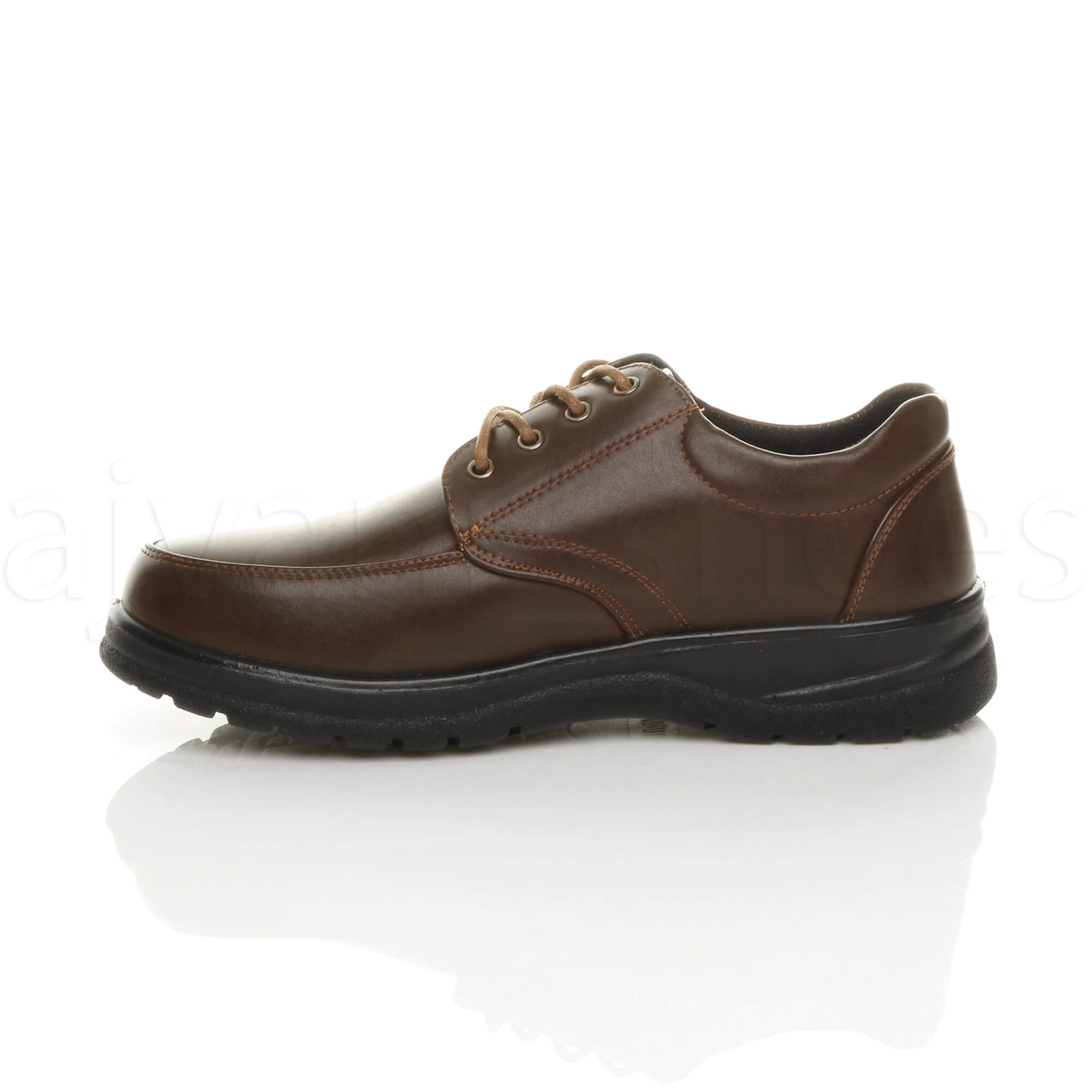 MENS-LACE-UP-CASUAL-MEMORY-FOAM-INSOLE-COMFORT-CUSHIONED-WORK-SHOES-SIZE thumbnail 12