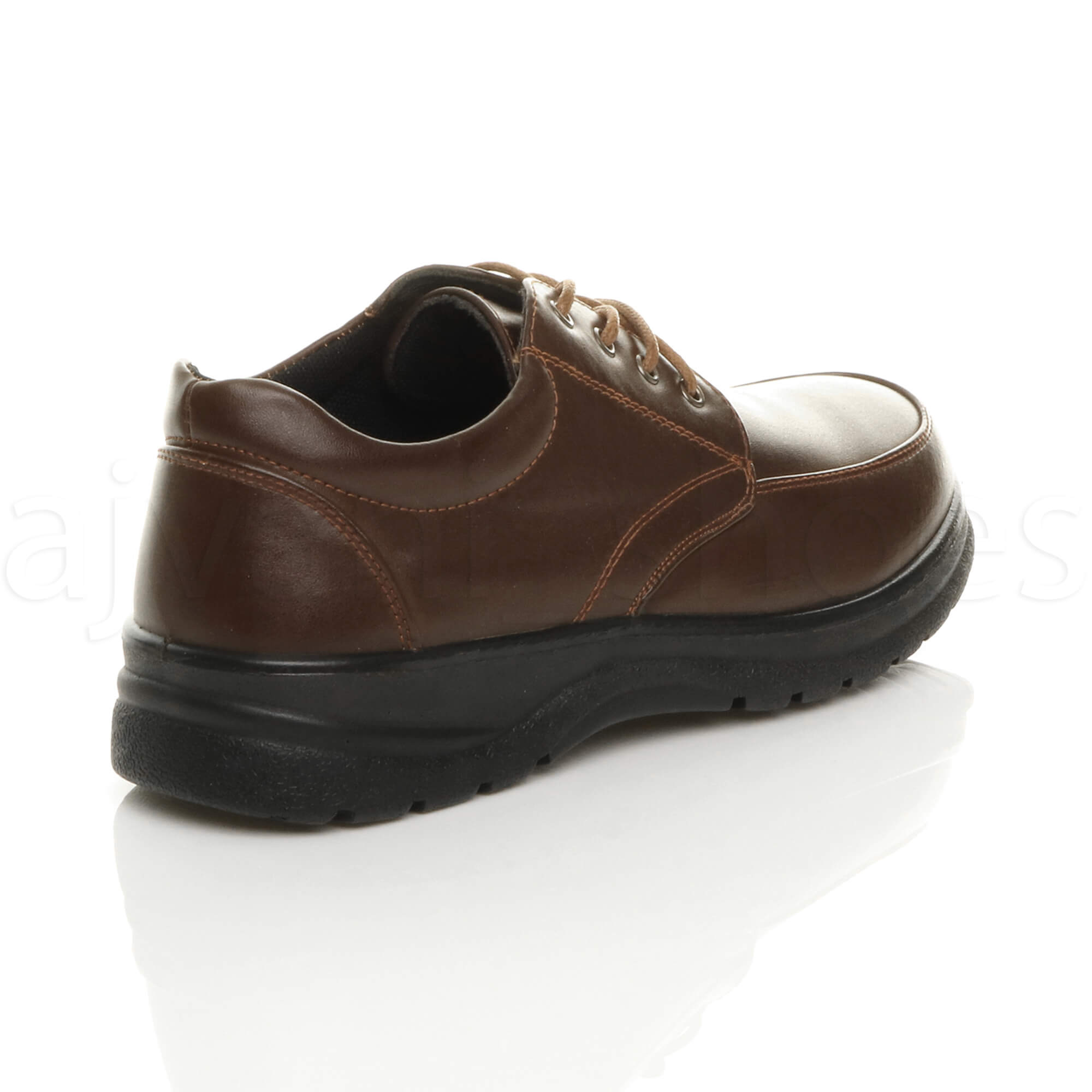 MENS-LACE-UP-CASUAL-MEMORY-FOAM-INSOLE-COMFORT-CUSHIONED-WORK-SHOES-SIZE thumbnail 13