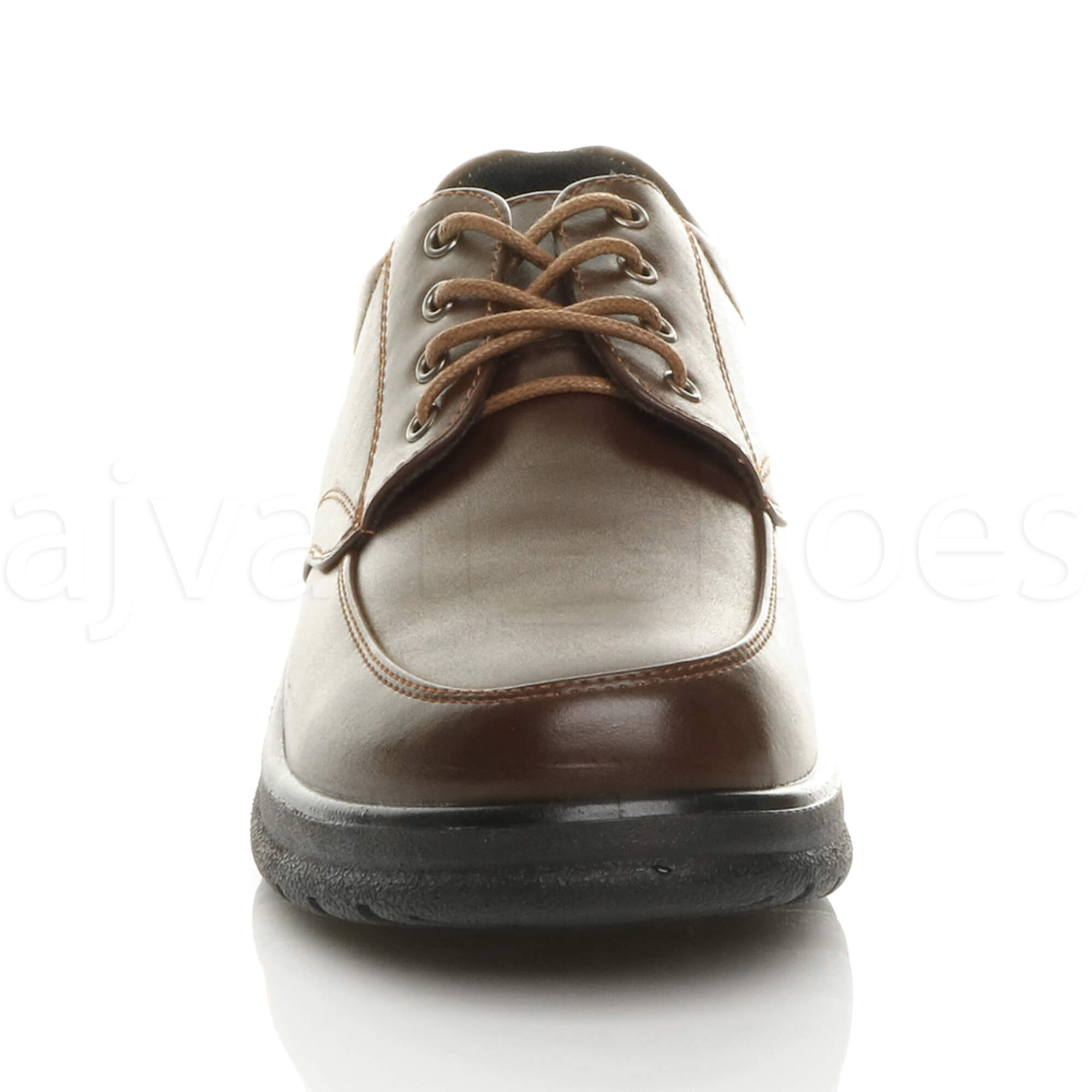 MENS-LACE-UP-CASUAL-MEMORY-FOAM-INSOLE-COMFORT-CUSHIONED-WORK-SHOES-SIZE thumbnail 15