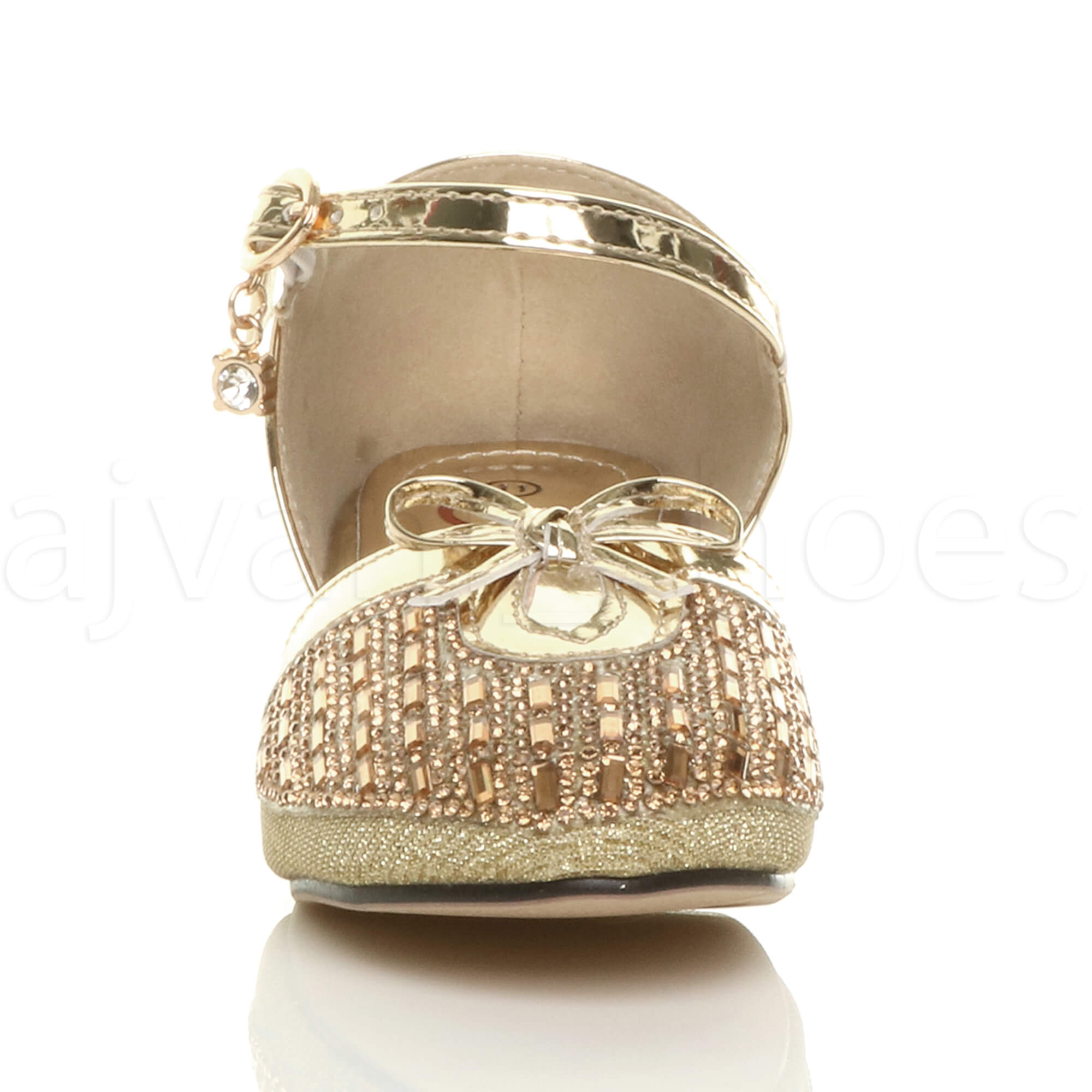 part gold page silver heels childrens heel is