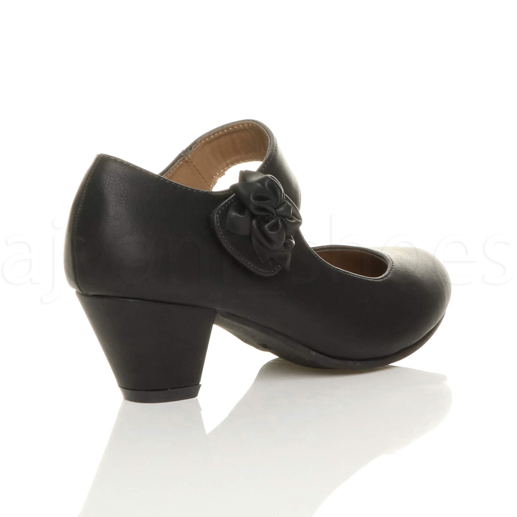 WOMENS-LADIES-MID-BLOCK-HEEL-PADDED-COMFORT-MARY-JANE-LEATHER-LINED-SHOES-SIZE