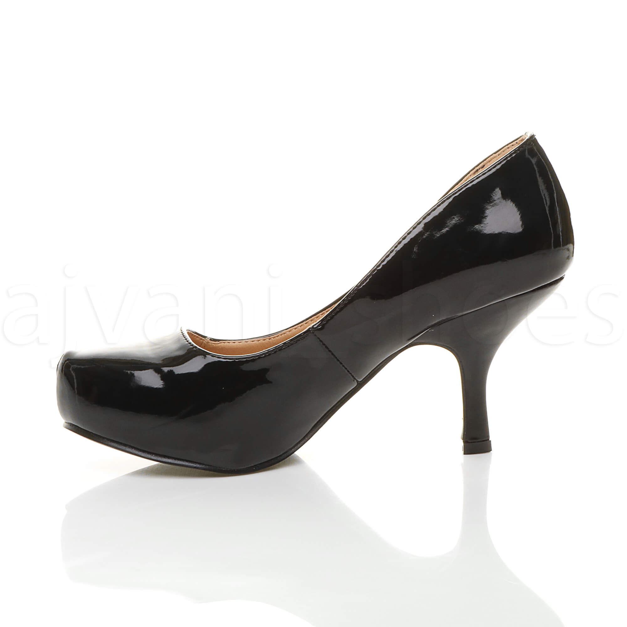 WOMENS-LADIES-LOW-MID-HEEL-PUMPS-CONCEALED-PLATFORM-WORK-COURT-SHOES-SIZE