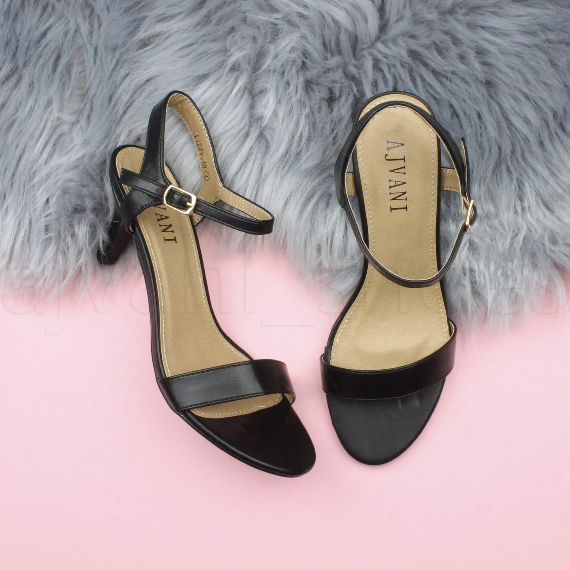 WOMENS-LADIES-HIGH-HEEL-BUCKLE-STRAPPY-BASIC-BARELY-THERE-SANDALS-SHOES-SIZE thumbnail 5