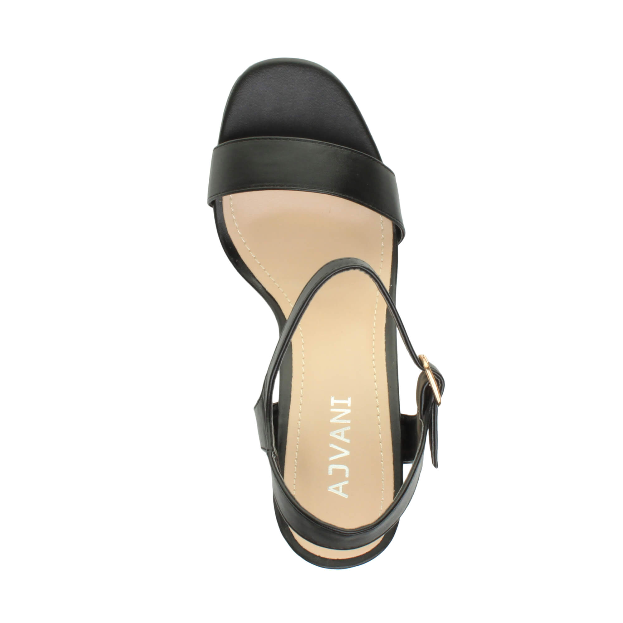 WOMENS-LADIES-HIGH-HEEL-BUCKLE-STRAPPY-BASIC-BARELY-THERE-SANDALS-SHOES-SIZE thumbnail 7
