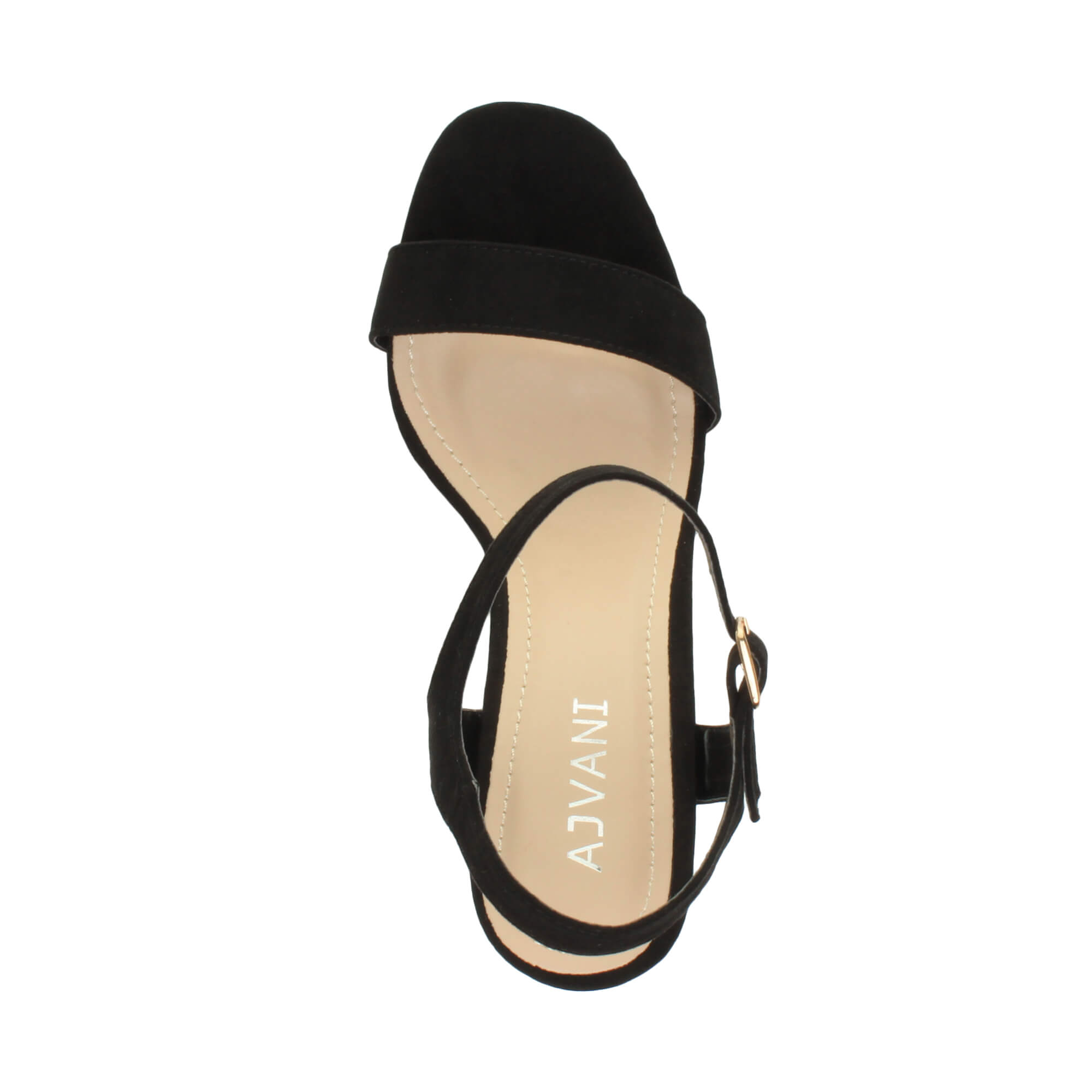 WOMENS-LADIES-HIGH-HEEL-BUCKLE-STRAPPY-BASIC-BARELY-THERE-SANDALS-SHOES-SIZE thumbnail 14