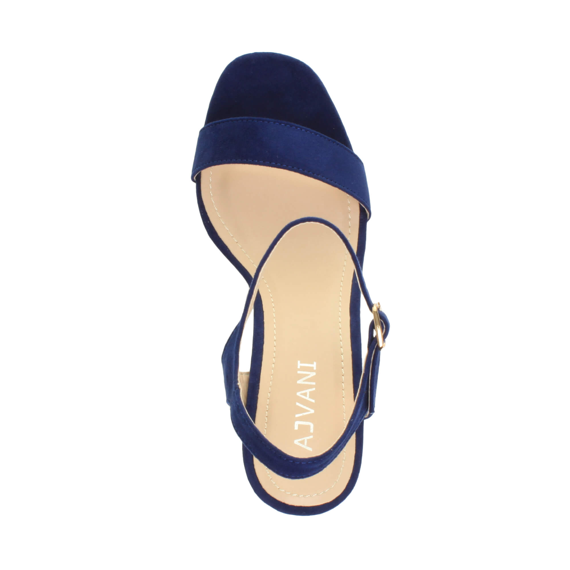 WOMENS-LADIES-HIGH-HEEL-BUCKLE-STRAPPY-BASIC-BARELY-THERE-SANDALS-SHOES-SIZE thumbnail 21
