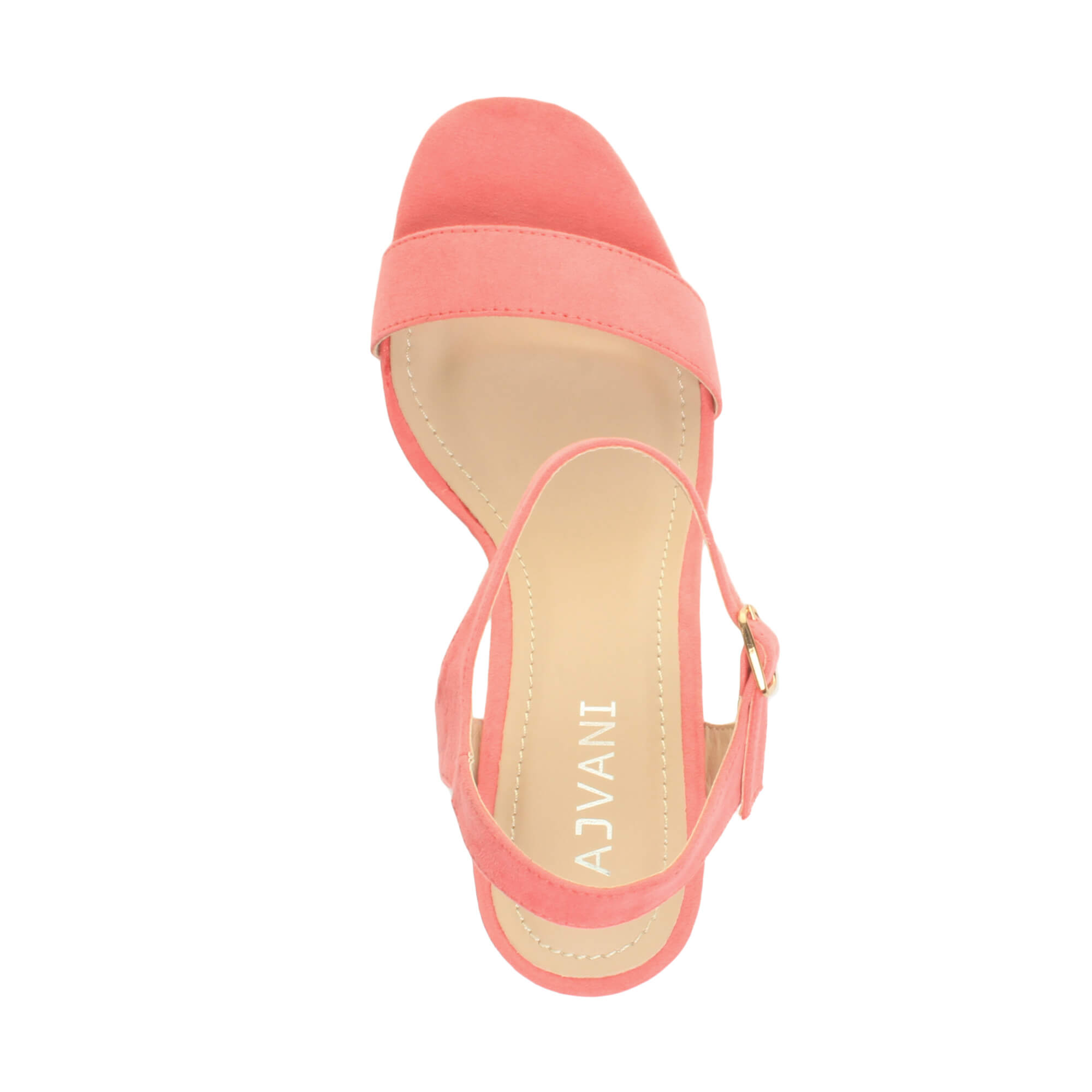 WOMENS-LADIES-HIGH-HEEL-BUCKLE-STRAPPY-BASIC-BARELY-THERE-SANDALS-SHOES-SIZE thumbnail 28