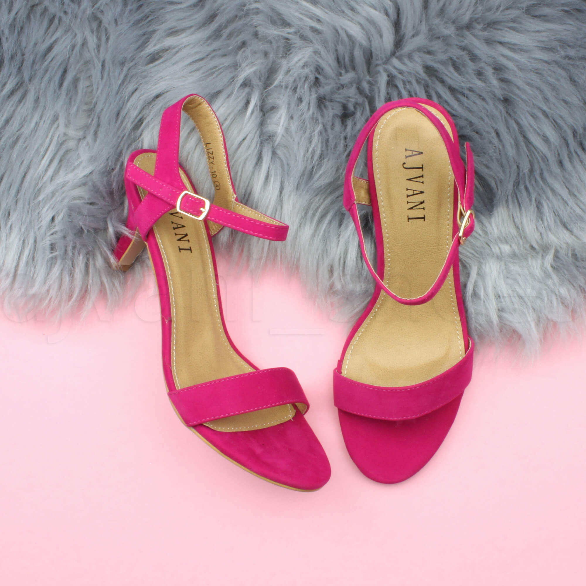 WOMENS-LADIES-HIGH-HEEL-BUCKLE-STRAPPY-BASIC-BARELY-THERE-SANDALS-SHOES-SIZE thumbnail 33