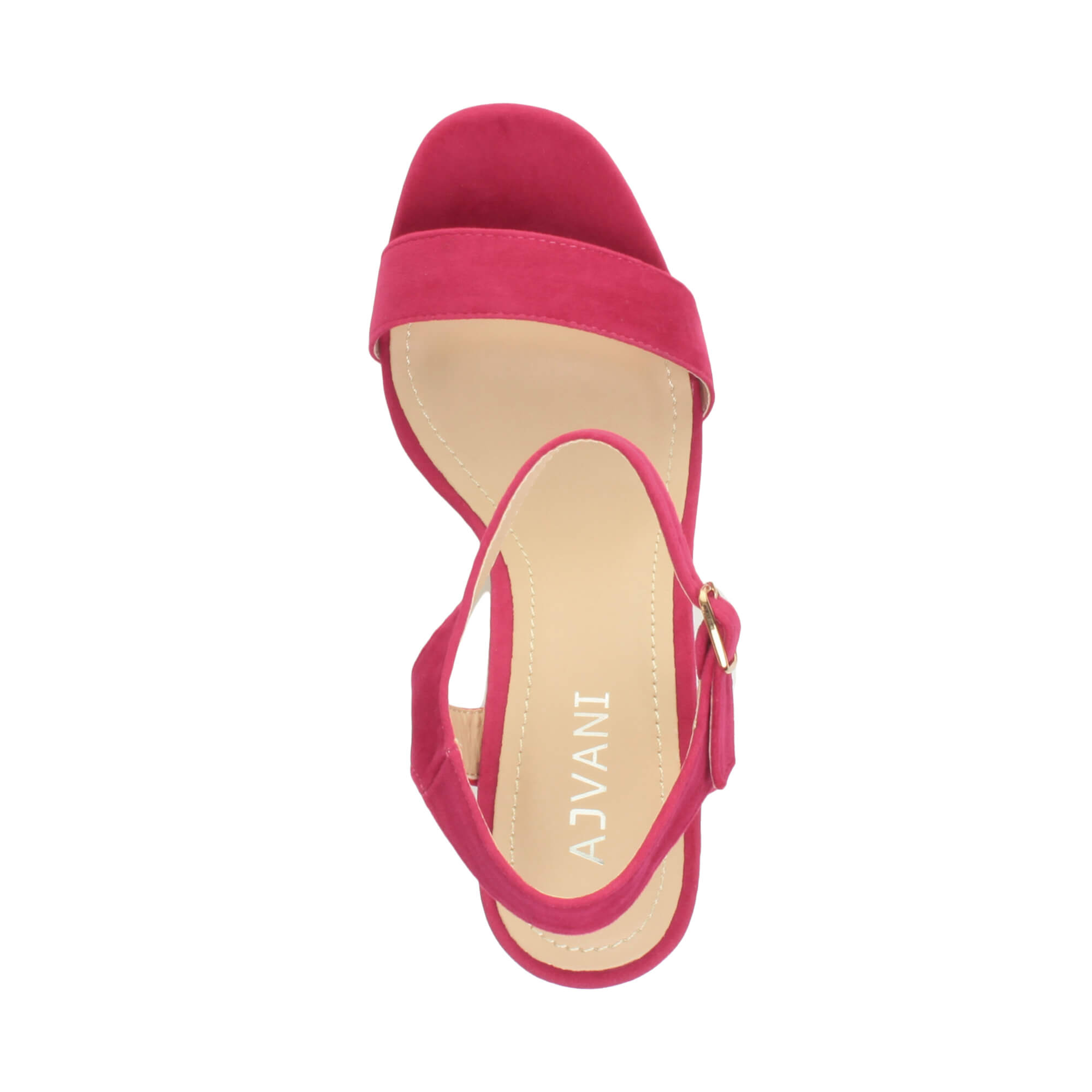 WOMENS-LADIES-HIGH-HEEL-BUCKLE-STRAPPY-BASIC-BARELY-THERE-SANDALS-SHOES-SIZE thumbnail 35