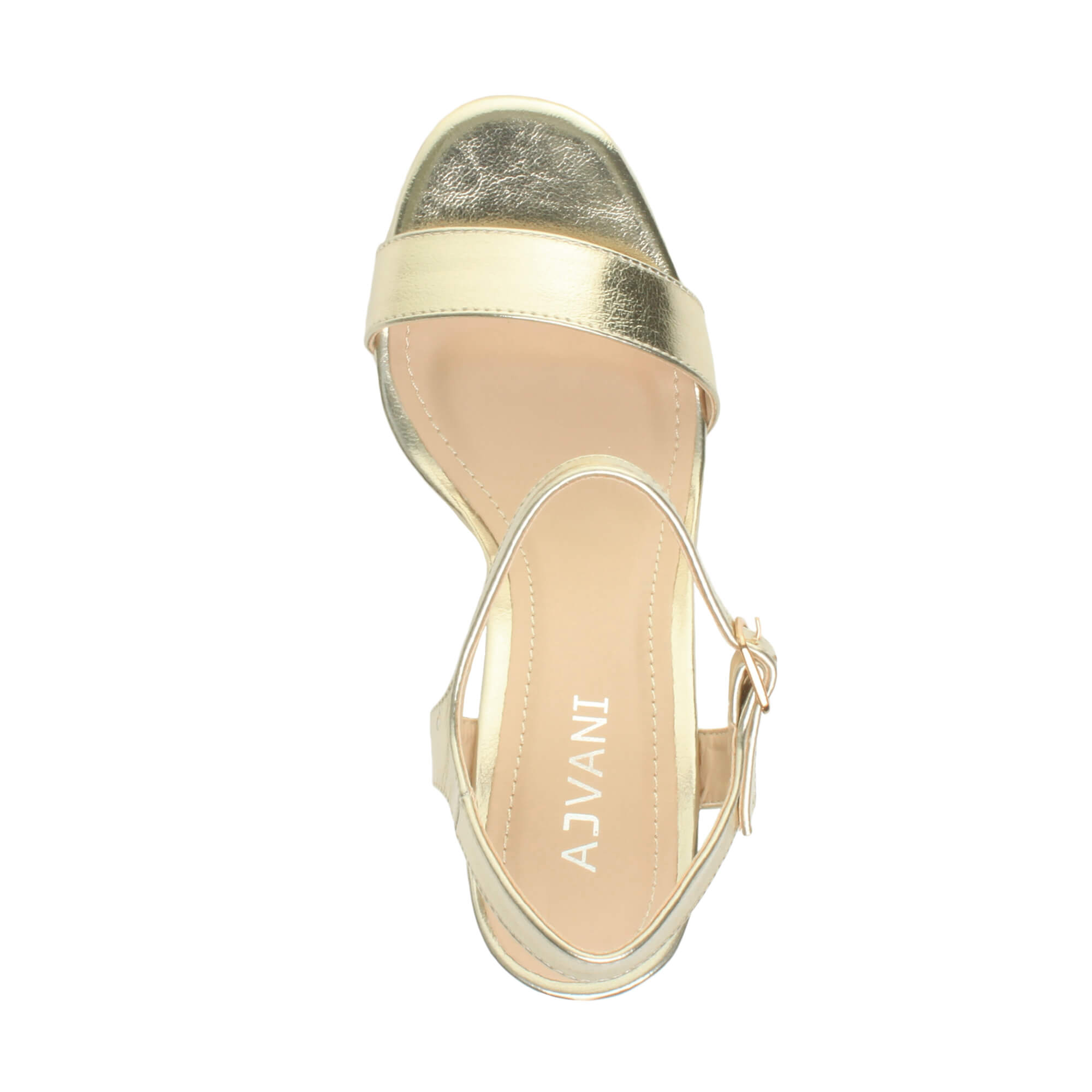 WOMENS-LADIES-HIGH-HEEL-BUCKLE-STRAPPY-BASIC-BARELY-THERE-SANDALS-SHOES-SIZE thumbnail 49