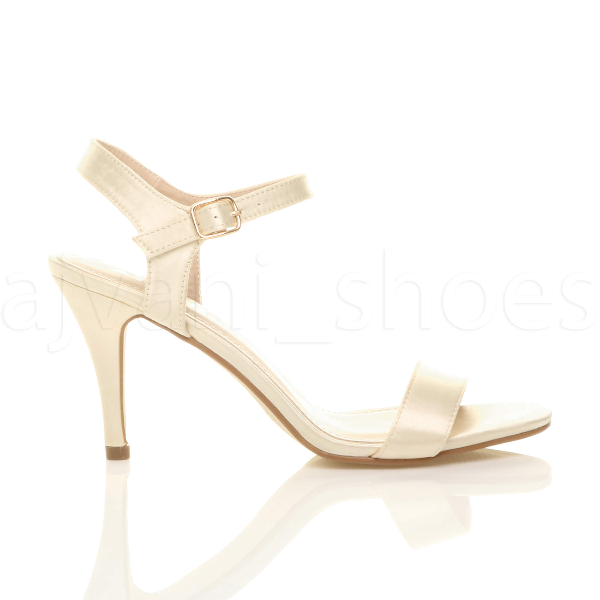 WOMENS-LADIES-HIGH-HEEL-BUCKLE-STRAPPY-BASIC-BARELY-THERE-SANDALS-SHOES-SIZE thumbnail 52