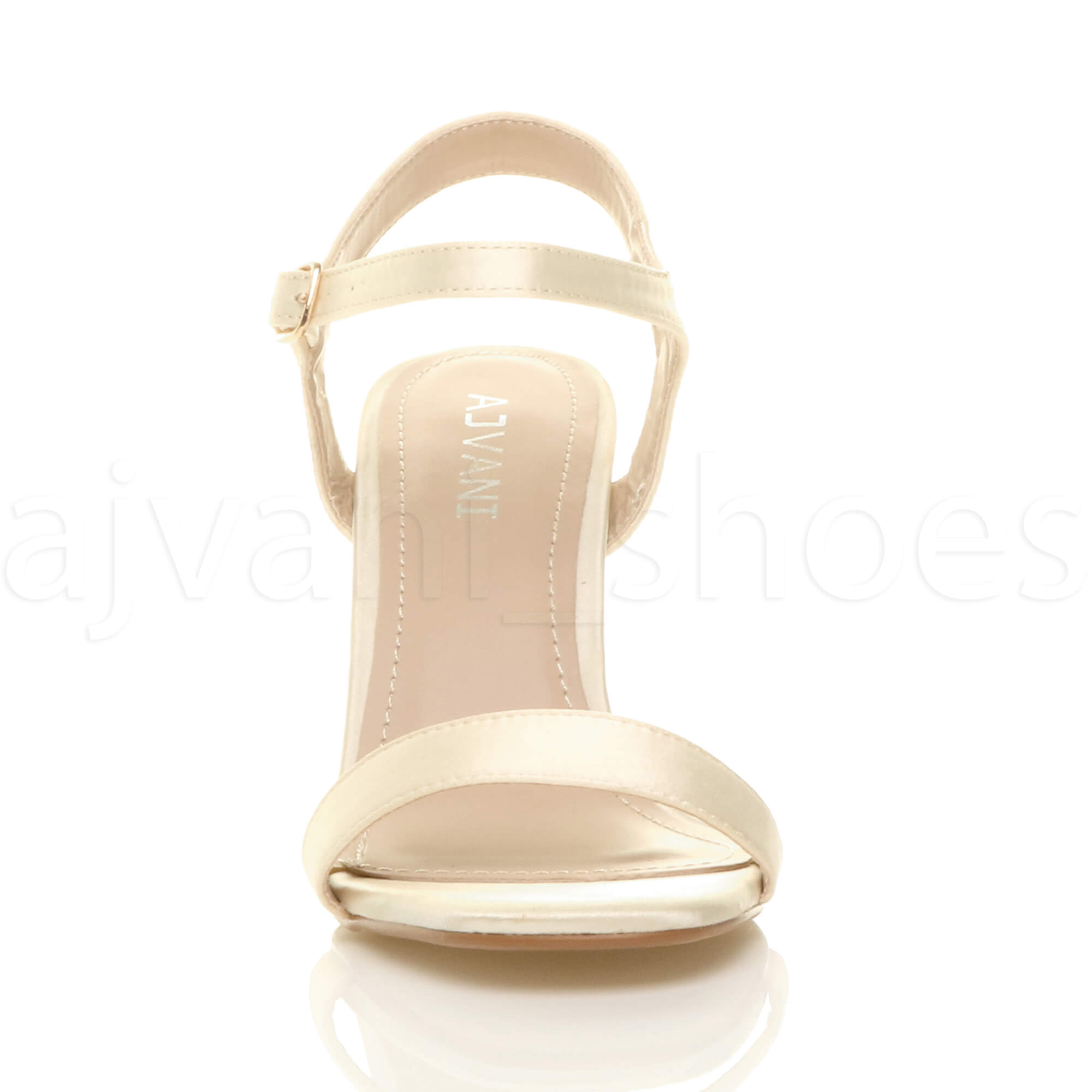 WOMENS-LADIES-HIGH-HEEL-BUCKLE-STRAPPY-BASIC-BARELY-THERE-SANDALS-SHOES-SIZE thumbnail 55