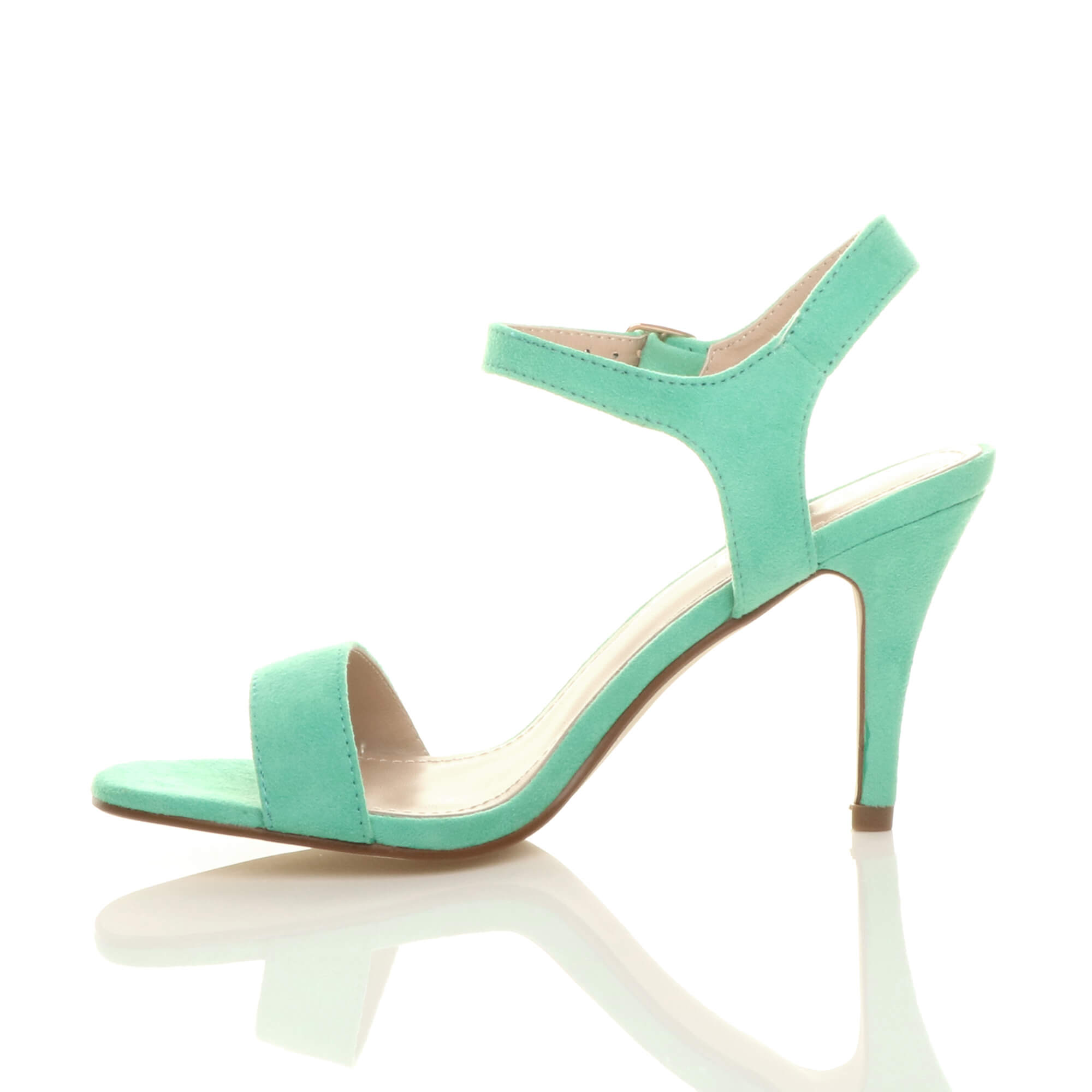 WOMENS-LADIES-HIGH-HEEL-BUCKLE-STRAPPY-BASIC-BARELY-THERE-SANDALS-SHOES-SIZE thumbnail 60