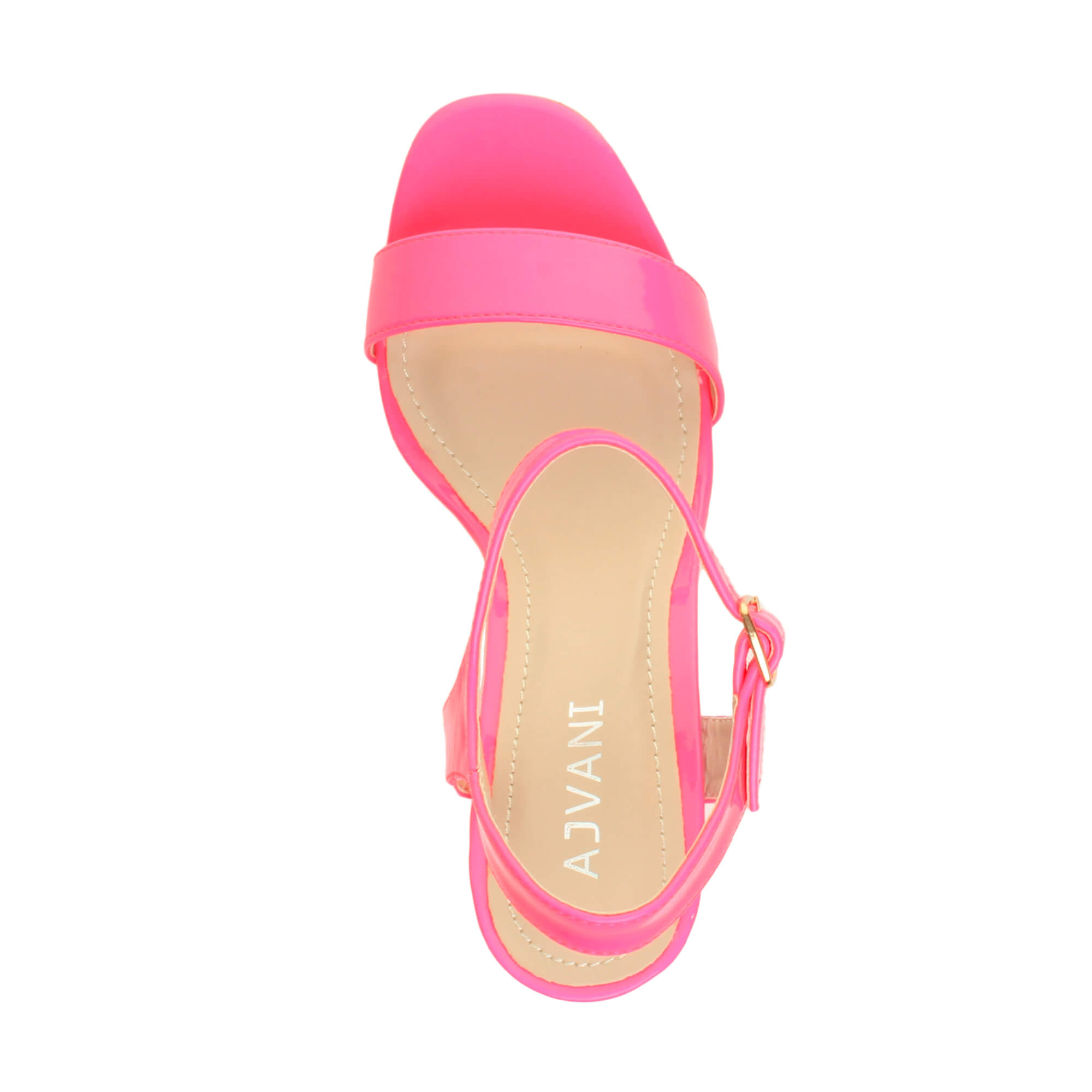 WOMENS-LADIES-HIGH-HEEL-BUCKLE-STRAPPY-BASIC-BARELY-THERE-SANDALS-SHOES-SIZE thumbnail 84