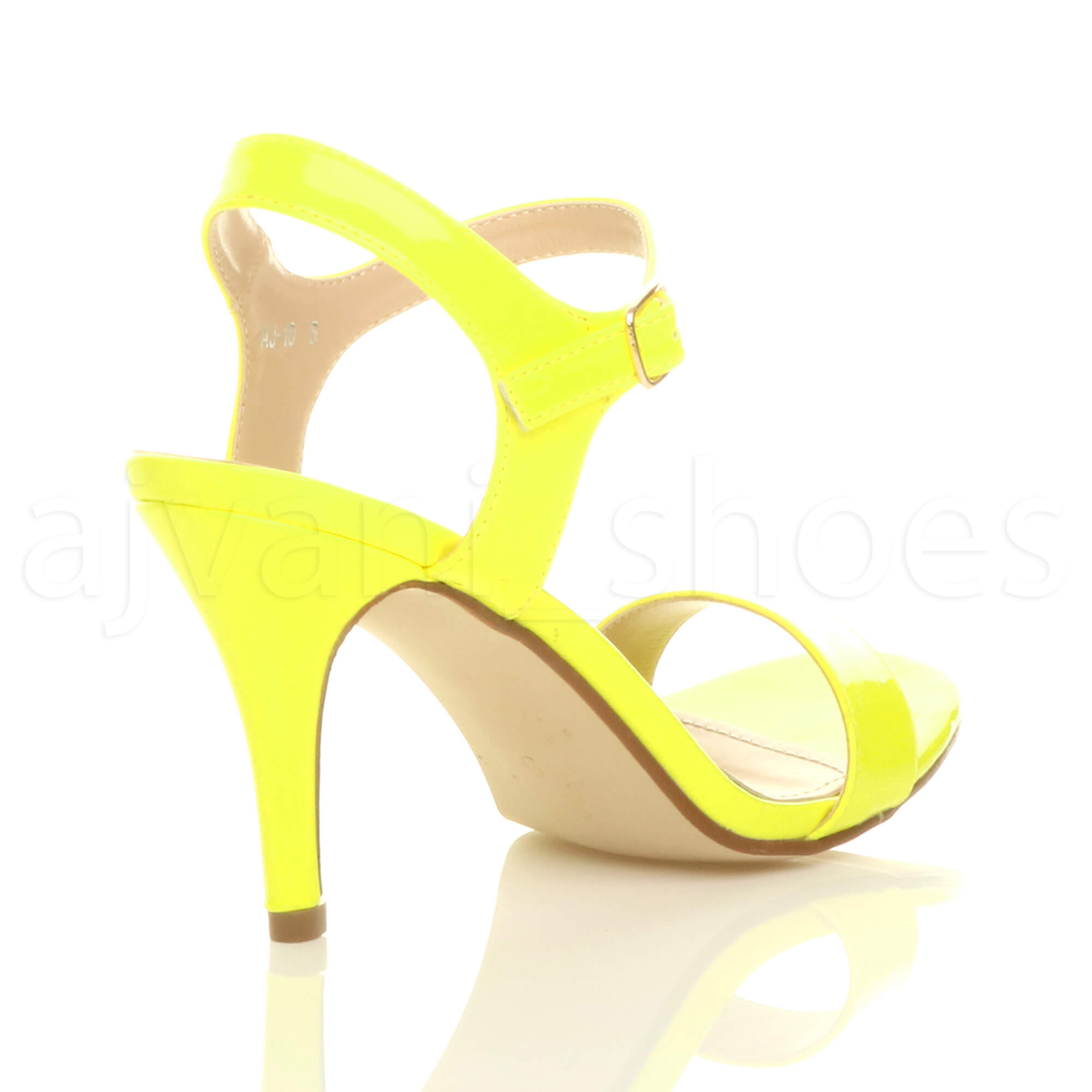 WOMENS-LADIES-HIGH-HEEL-BUCKLE-STRAPPY-BASIC-BARELY-THERE-SANDALS-SHOES-SIZE thumbnail 89