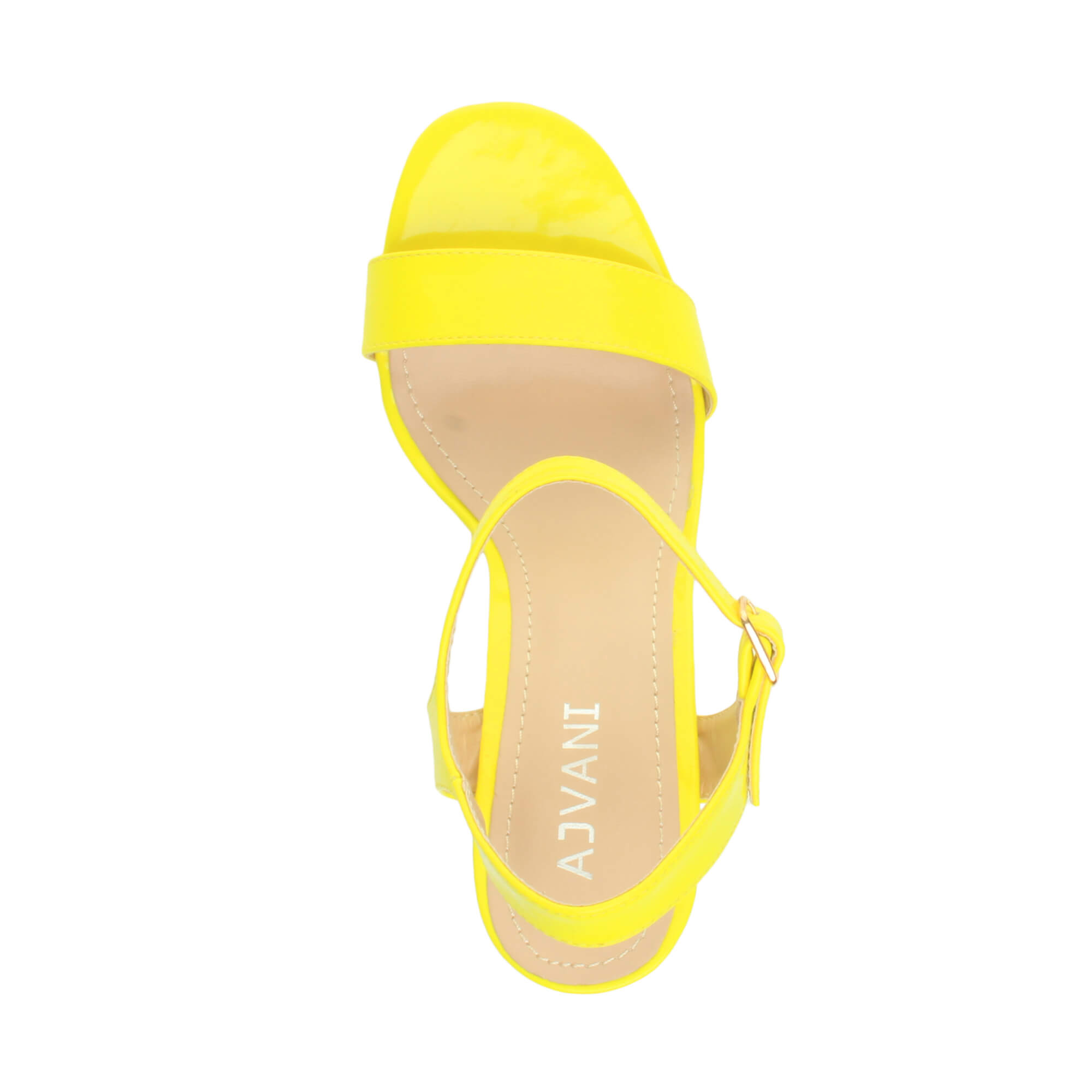WOMENS-LADIES-HIGH-HEEL-BUCKLE-STRAPPY-BASIC-BARELY-THERE-SANDALS-SHOES-SIZE thumbnail 91