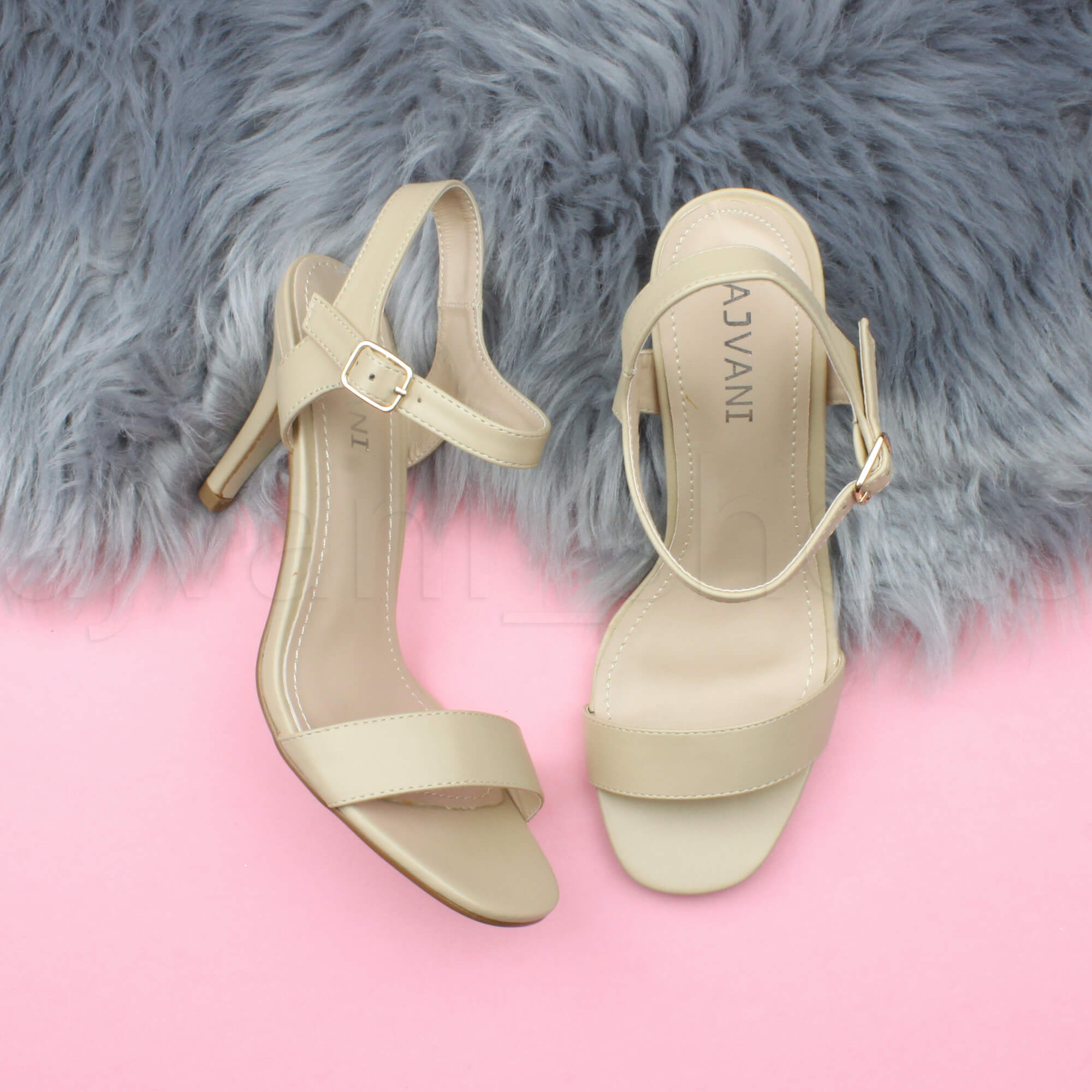 WOMENS-LADIES-HIGH-HEEL-BUCKLE-STRAPPY-BASIC-BARELY-THERE-SANDALS-SHOES-SIZE thumbnail 96
