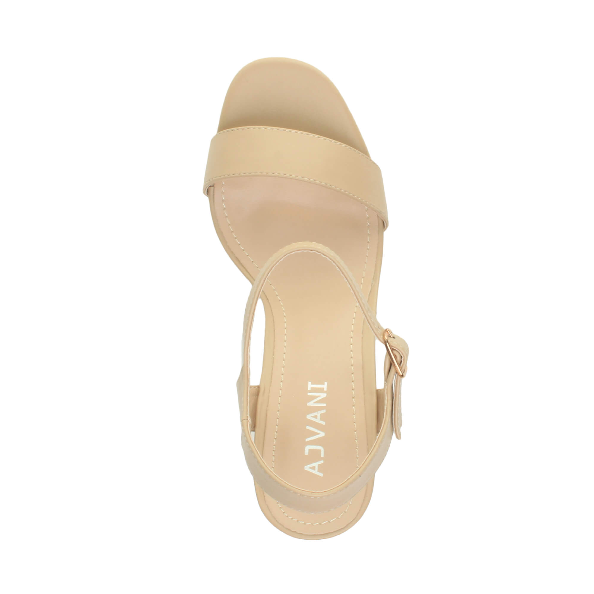 WOMENS-LADIES-HIGH-HEEL-BUCKLE-STRAPPY-BASIC-BARELY-THERE-SANDALS-SHOES-SIZE thumbnail 98