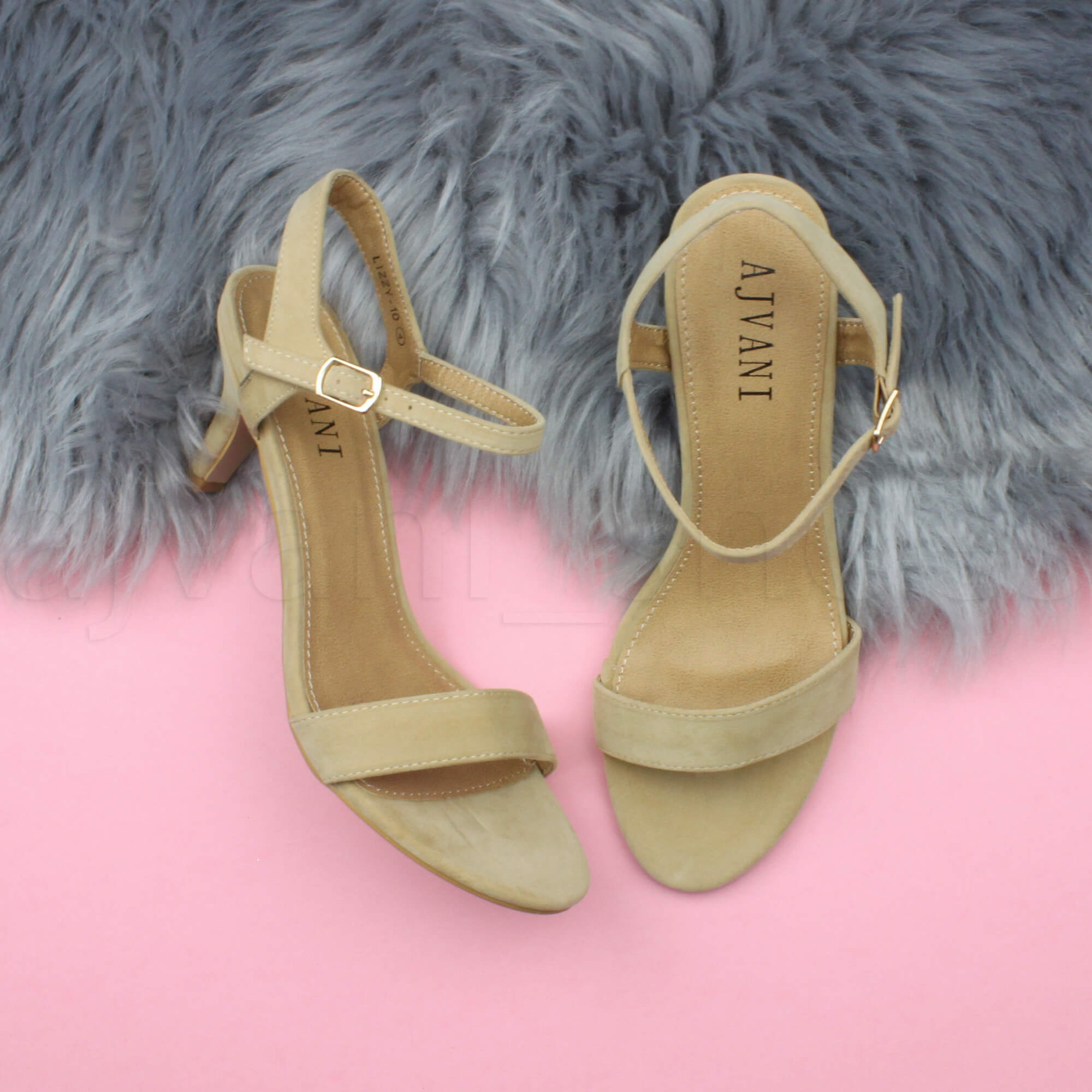 WOMENS-LADIES-HIGH-HEEL-BUCKLE-STRAPPY-BASIC-BARELY-THERE-SANDALS-SHOES-SIZE thumbnail 103