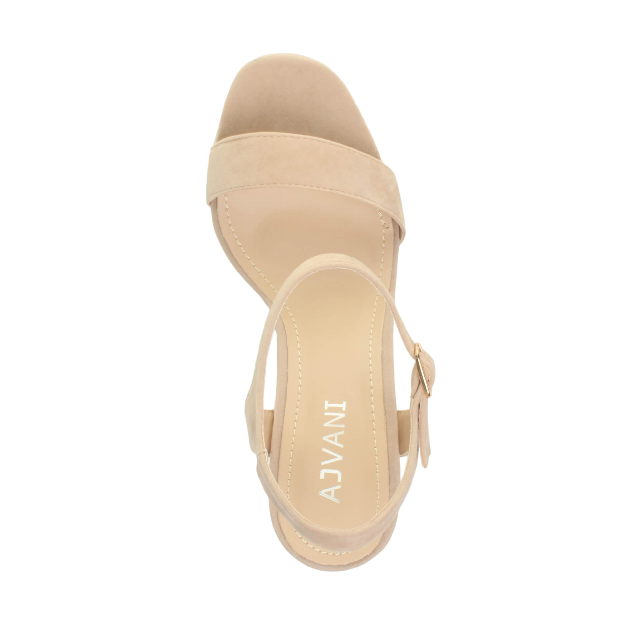 WOMENS-LADIES-HIGH-HEEL-BUCKLE-STRAPPY-BASIC-BARELY-THERE-SANDALS-SHOES-SIZE thumbnail 105