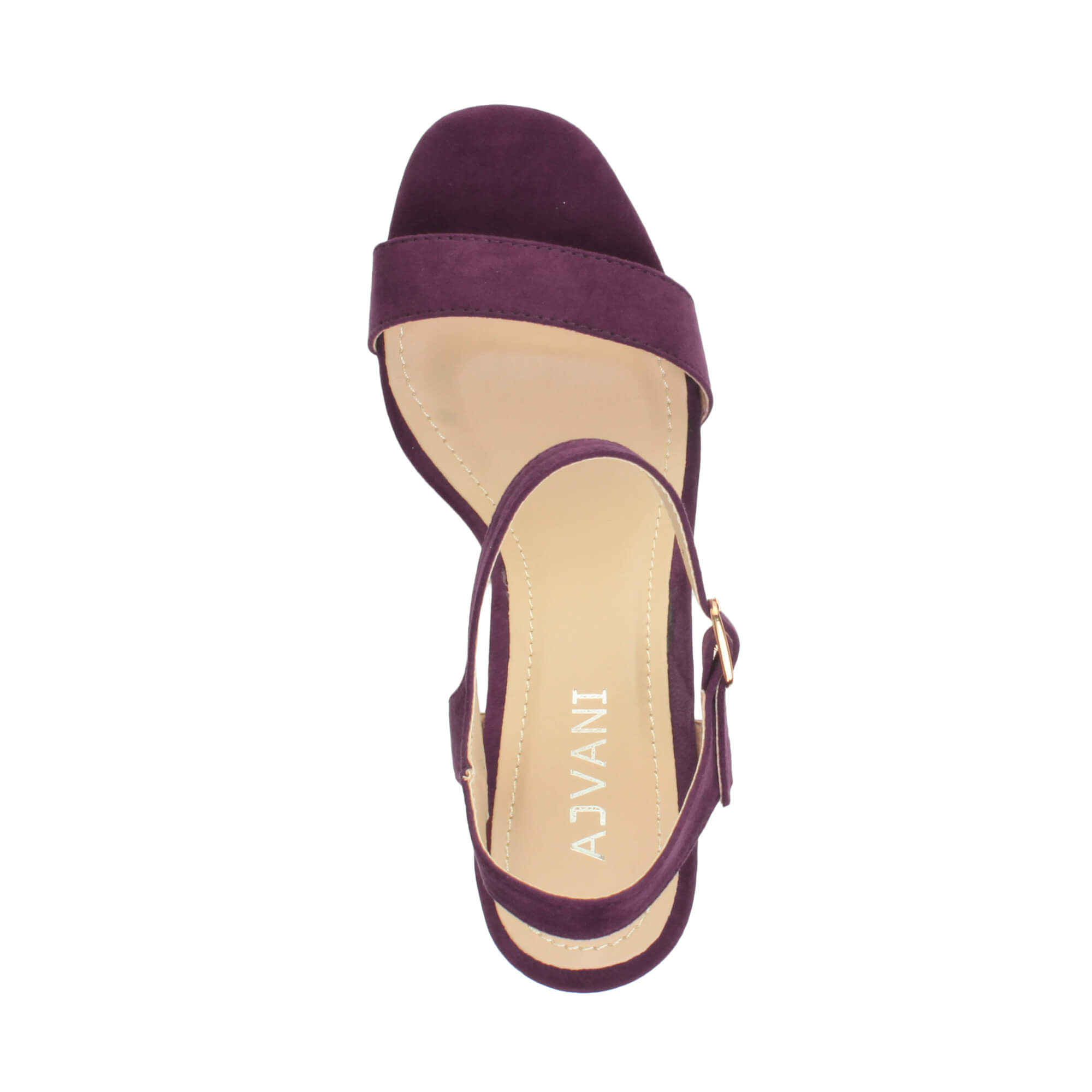 WOMENS-LADIES-HIGH-HEEL-BUCKLE-STRAPPY-BASIC-BARELY-THERE-SANDALS-SHOES-SIZE thumbnail 112