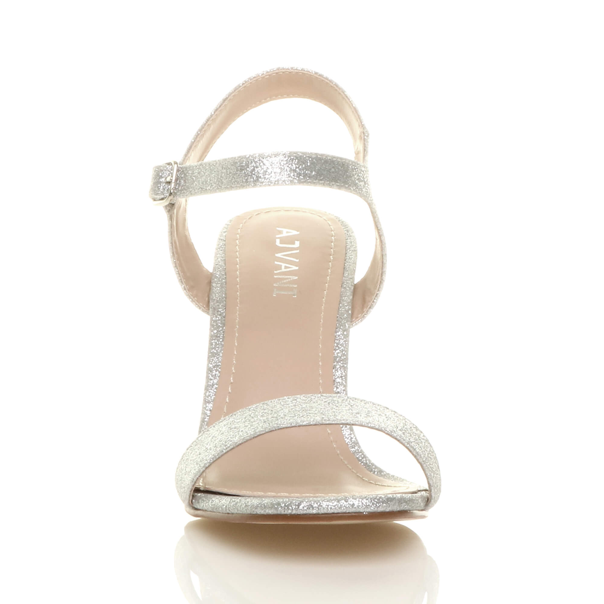 WOMENS-LADIES-HIGH-HEEL-BUCKLE-STRAPPY-BASIC-BARELY-THERE-SANDALS-SHOES-SIZE thumbnail 125