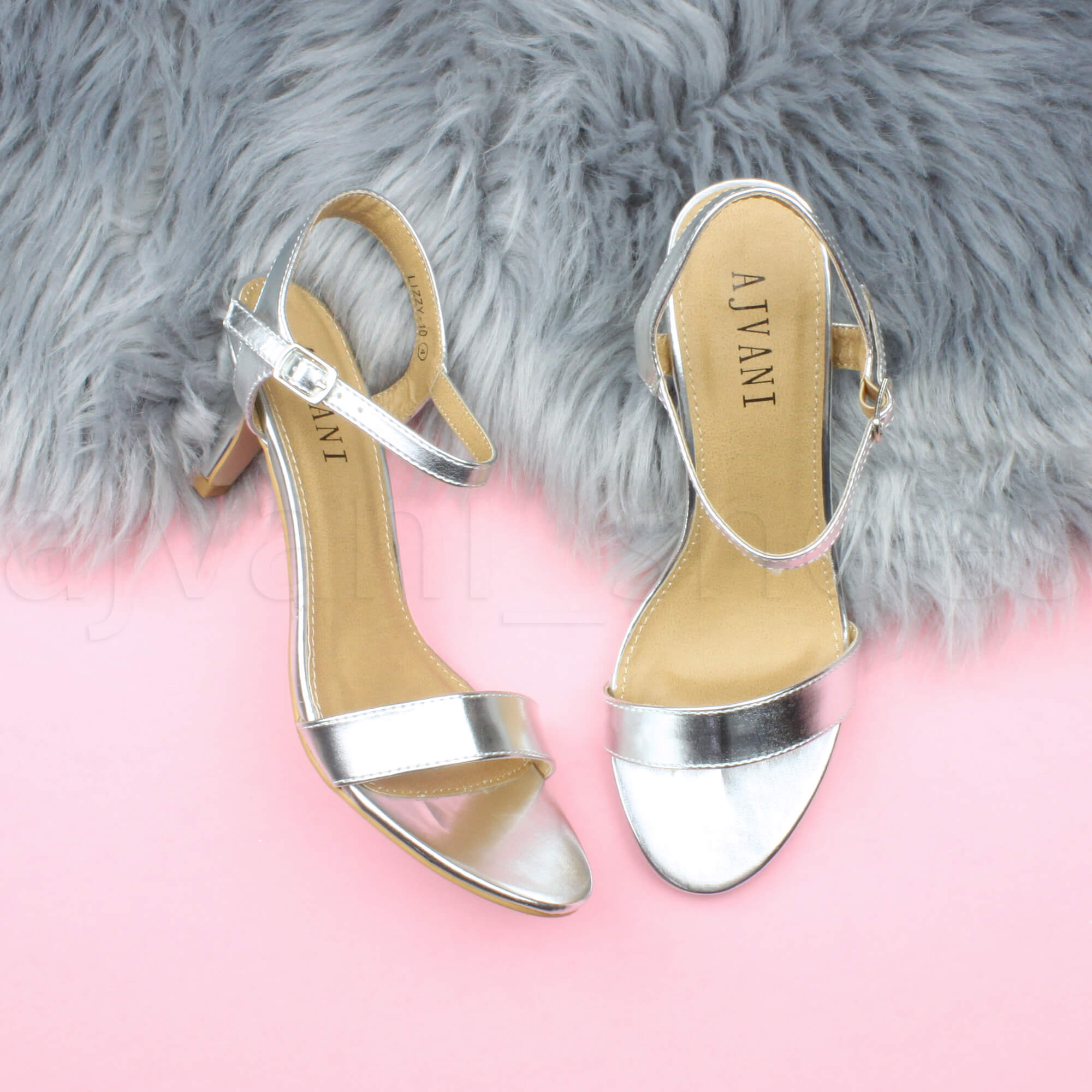 WOMENS-LADIES-HIGH-HEEL-BUCKLE-STRAPPY-BASIC-BARELY-THERE-SANDALS-SHOES-SIZE thumbnail 131