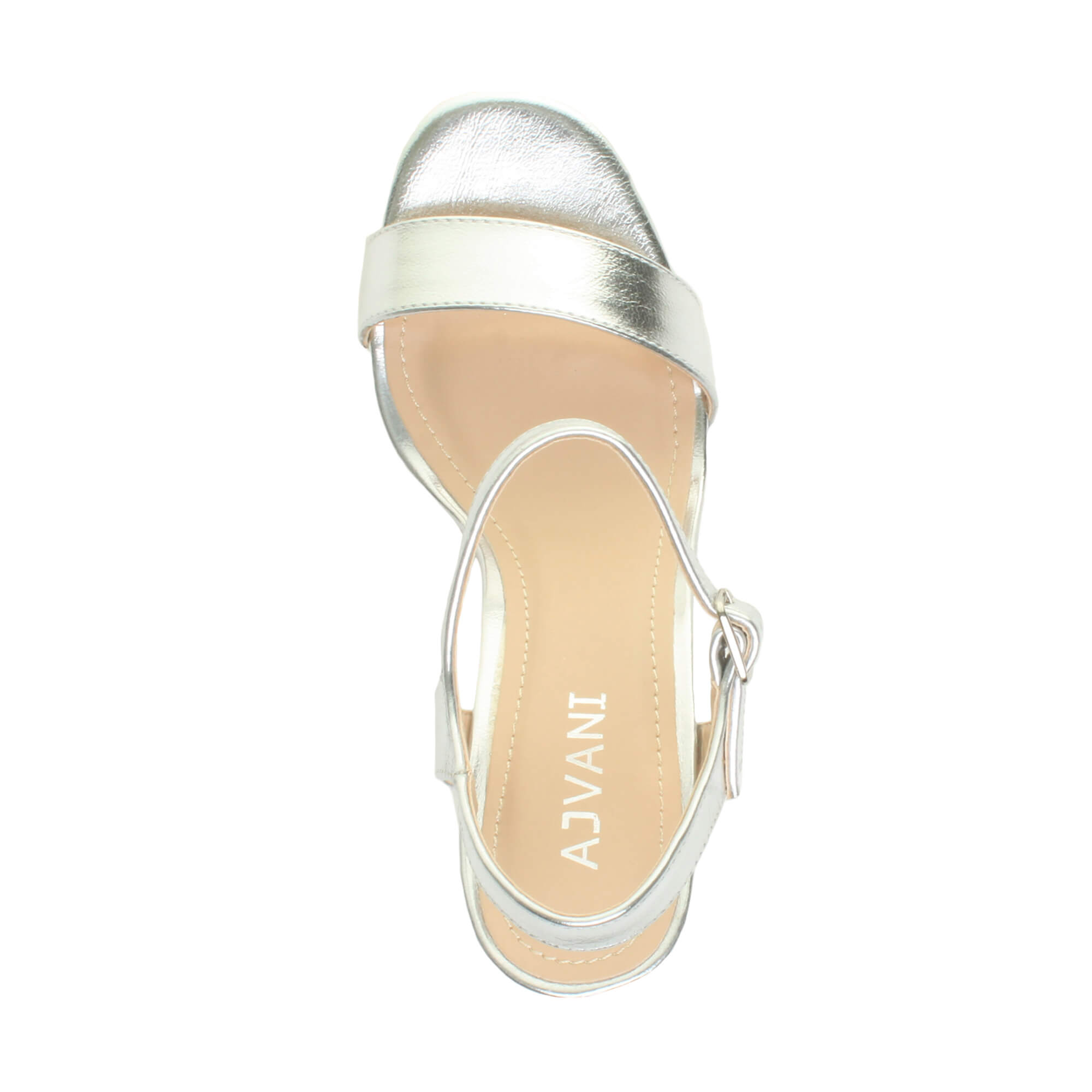 WOMENS-LADIES-HIGH-HEEL-BUCKLE-STRAPPY-BASIC-BARELY-THERE-SANDALS-SHOES-SIZE thumbnail 133