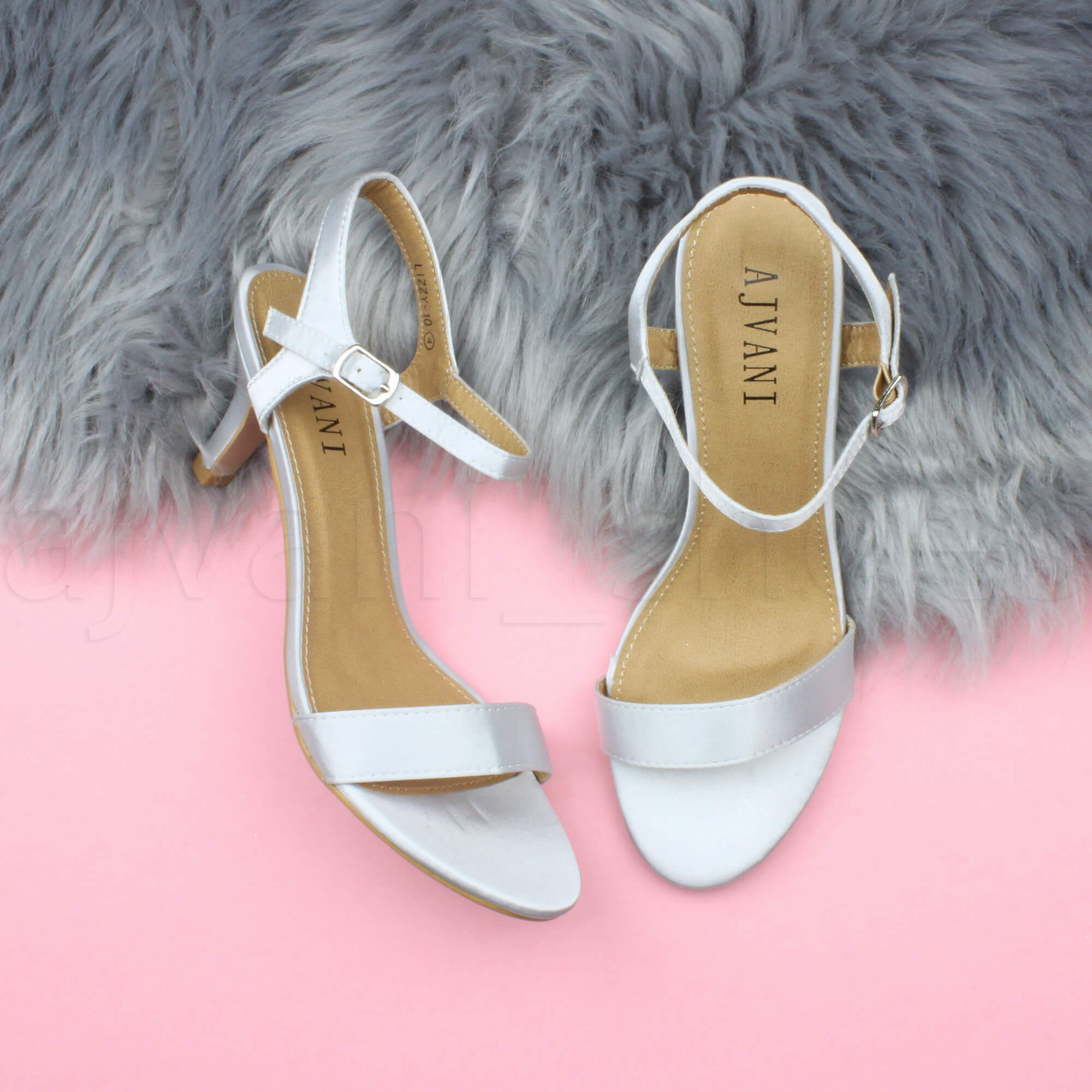 WOMENS-LADIES-HIGH-HEEL-BUCKLE-STRAPPY-BASIC-BARELY-THERE-SANDALS-SHOES-SIZE thumbnail 138