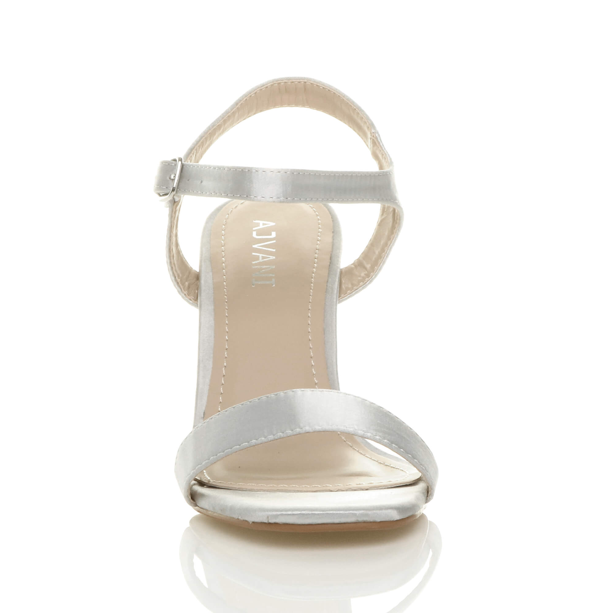 WOMENS-LADIES-HIGH-HEEL-BUCKLE-STRAPPY-BASIC-BARELY-THERE-SANDALS-SHOES-SIZE thumbnail 139