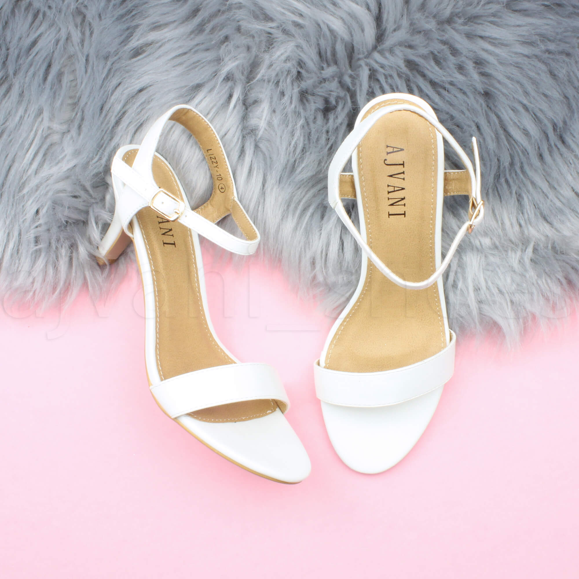 WOMENS-LADIES-HIGH-HEEL-BUCKLE-STRAPPY-BASIC-BARELY-THERE-SANDALS-SHOES-SIZE thumbnail 145