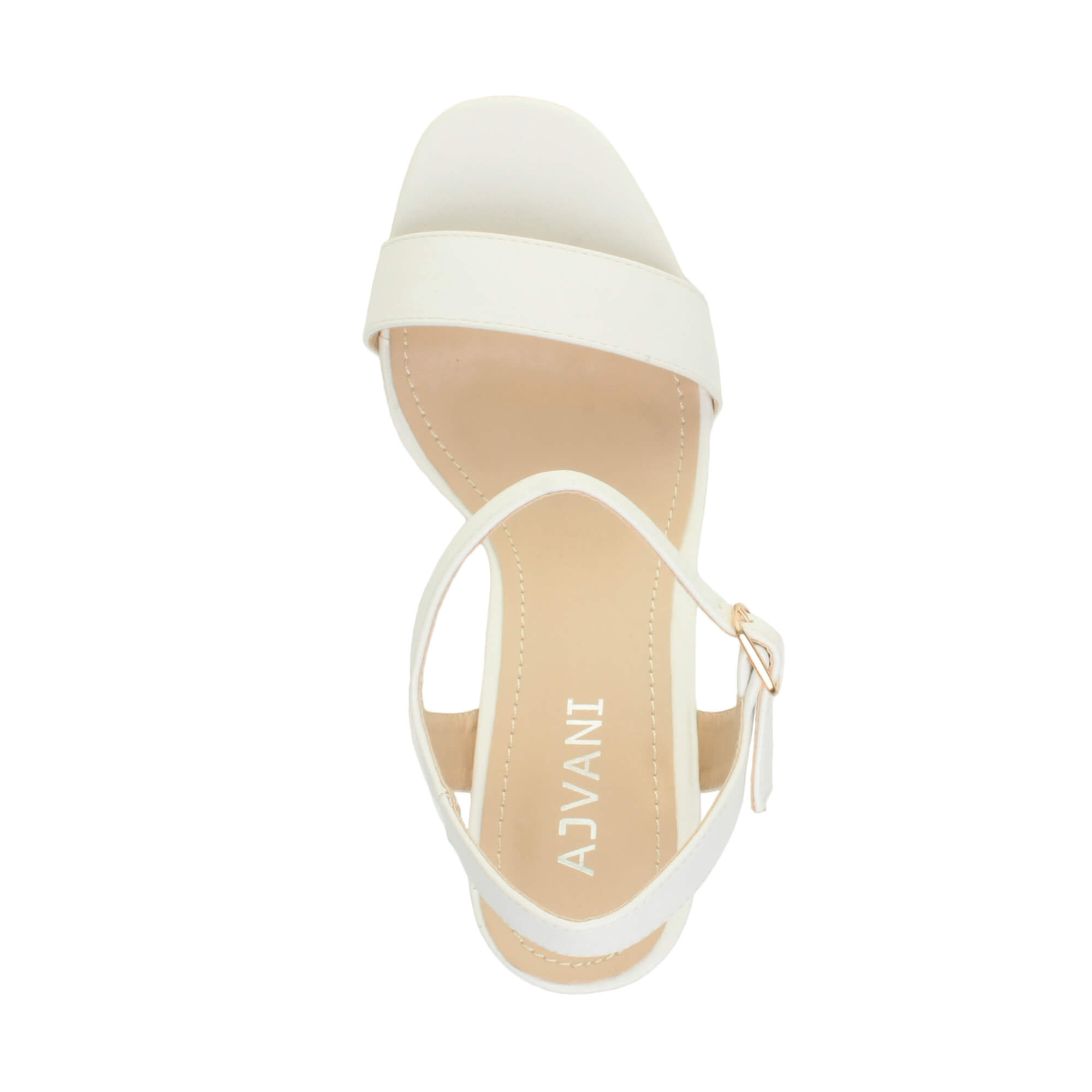 WOMENS-LADIES-HIGH-HEEL-BUCKLE-STRAPPY-BASIC-BARELY-THERE-SANDALS-SHOES-SIZE thumbnail 147